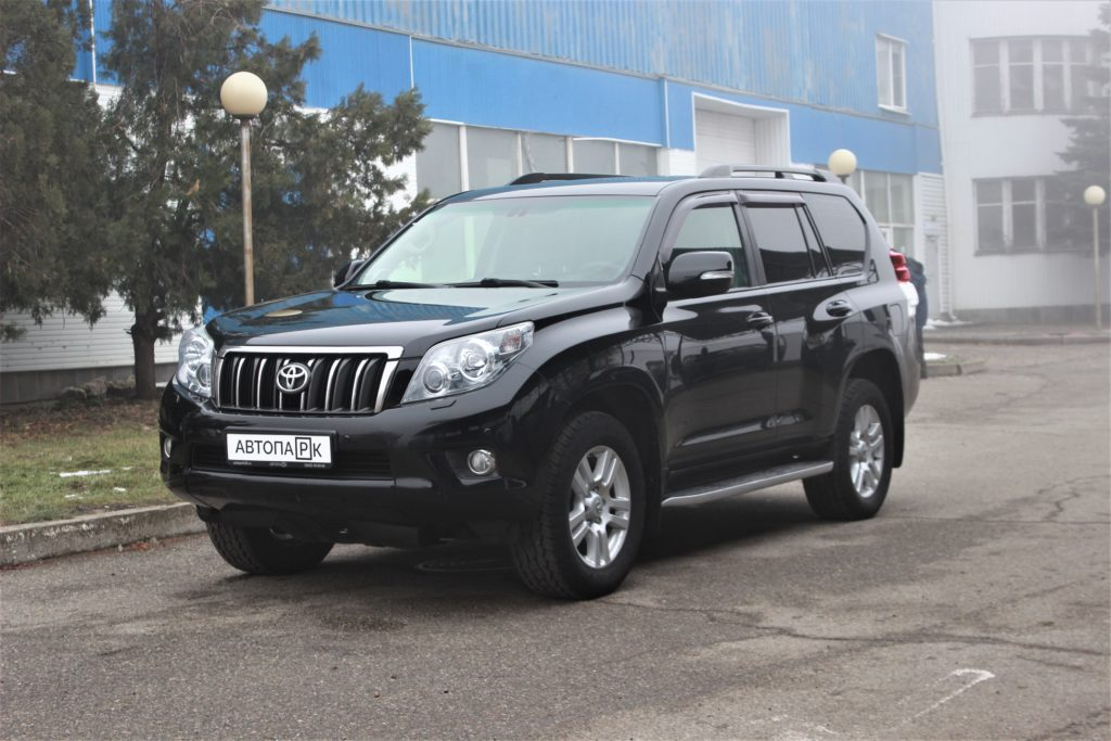 Купить Toyota Land Cruiser Prado (Черный) - Автопарк Ставрополь