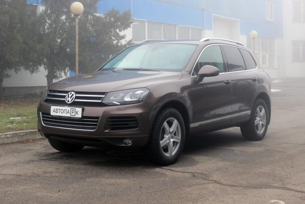 Купить Volkswagen Touareg (Коричневый ) - Автопарк Ставрополь