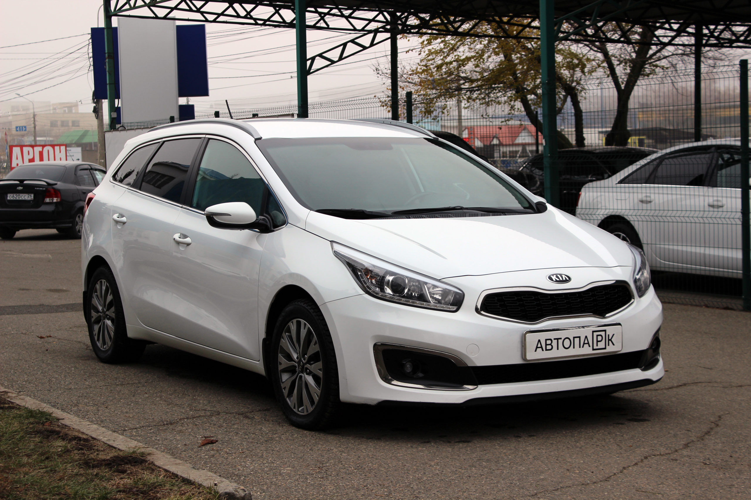 Купить KIA JD (Cee'd) (Белый) - Автопарк Ставрополь