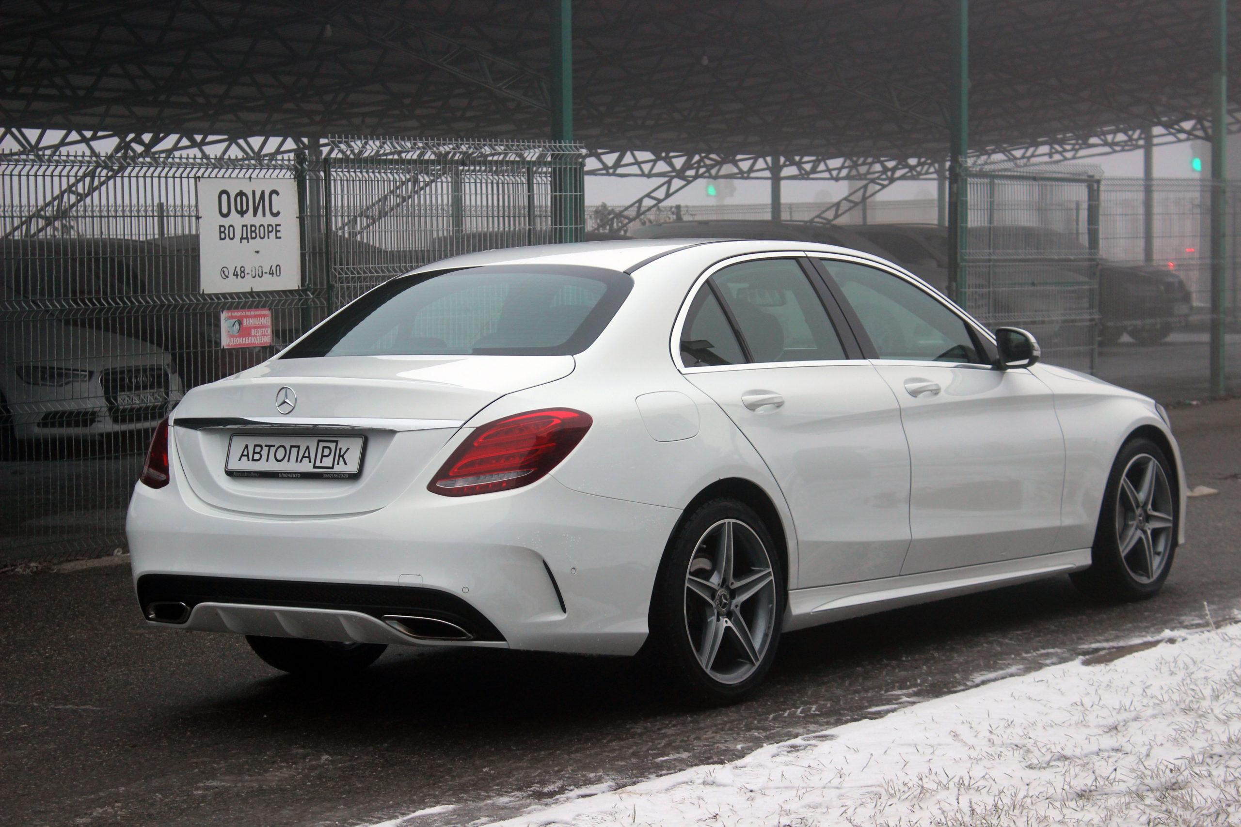 Купить Mercedes-Benz C-класс (Белый) - Автопарк Ставрополь