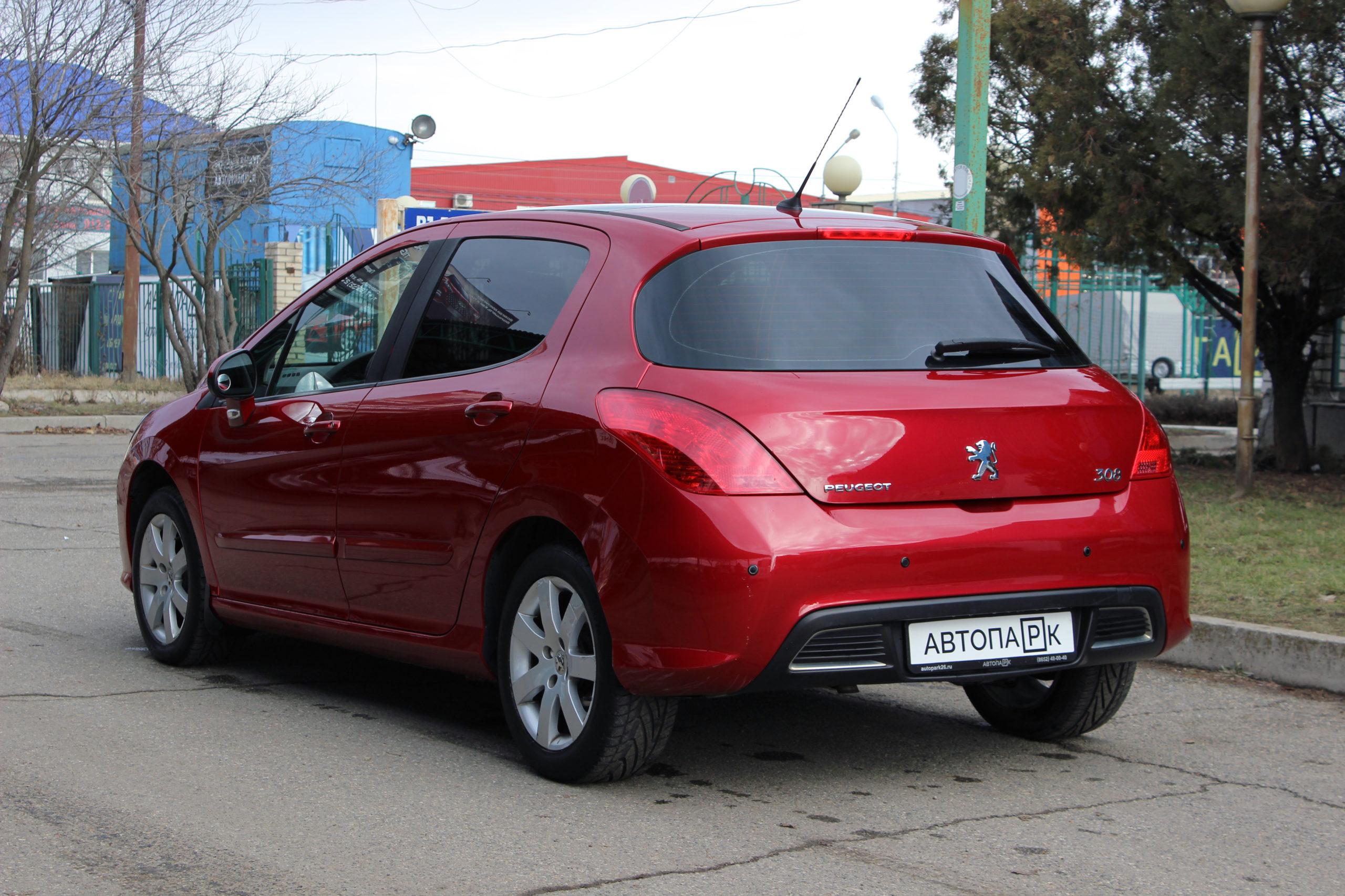 Купить Peugeot 308 (Красный) - Автопарк Ставрополь