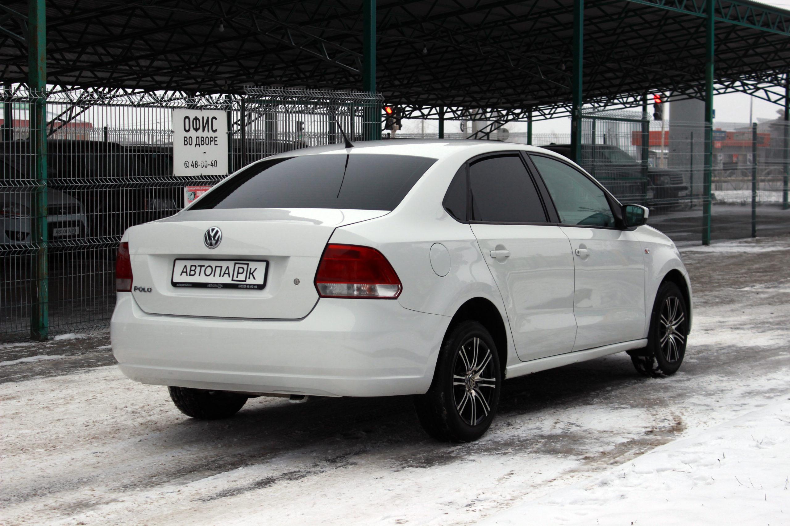 Купить Volkswagen Polo (Белый) - Автопарк Ставрополь