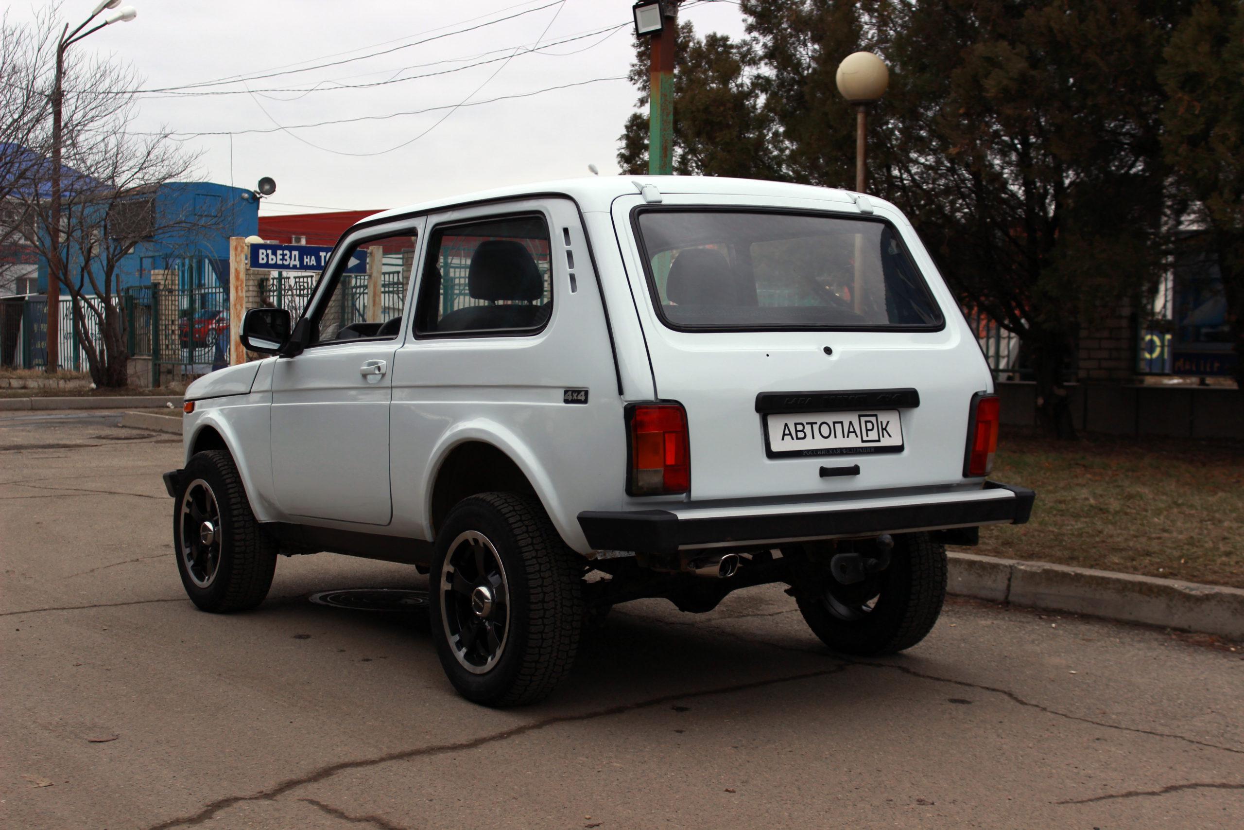 Купить LADA 4×4 (Нива) (Ярко-белый) - Автопарк Ставрополь