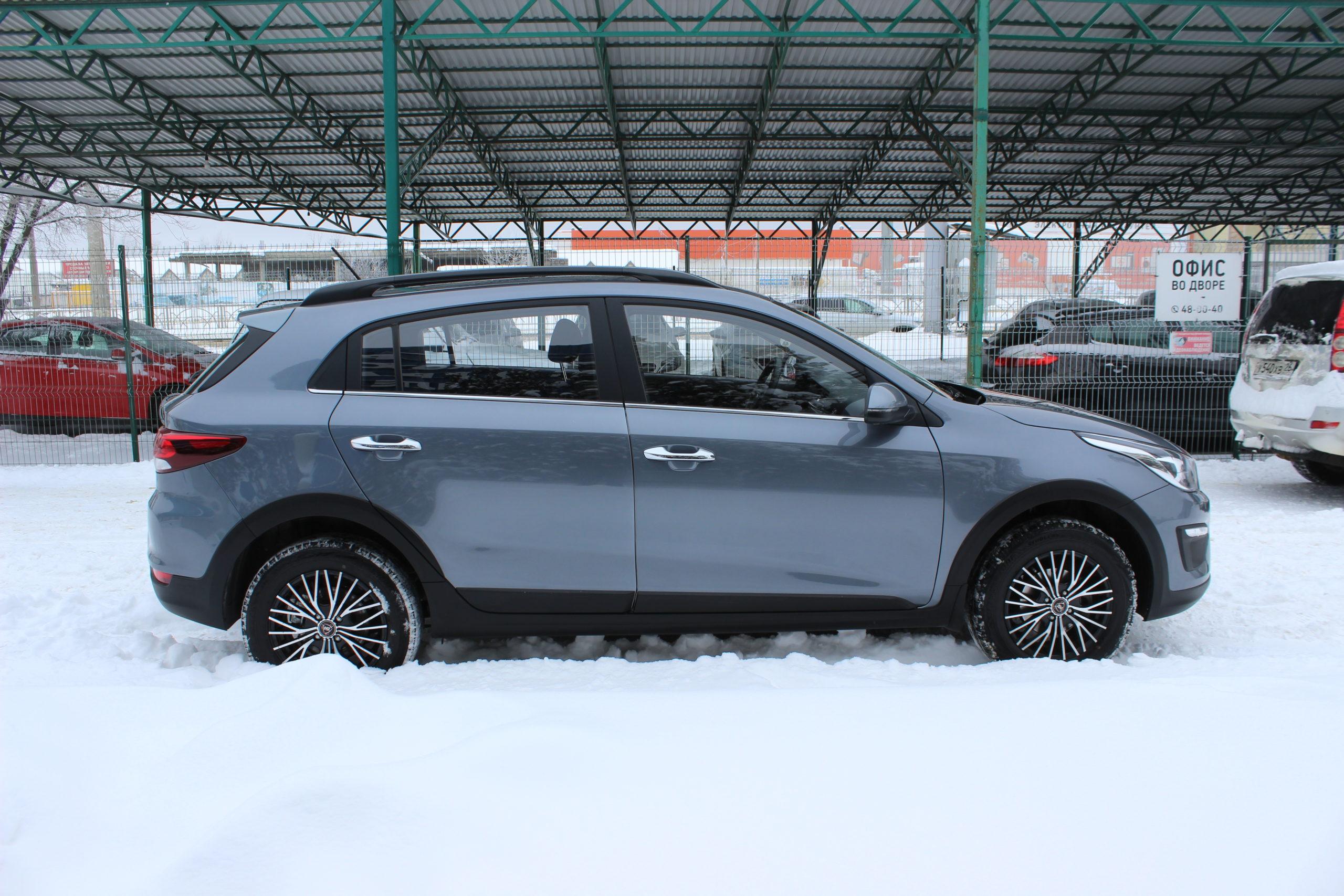 Купить KIA Rio X-Line (Серый) - Автопарк Ставрополь