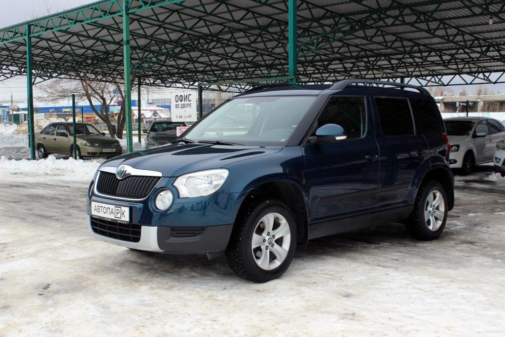 Купить Skoda Yeti (Синий) - Автопарк Ставрополь