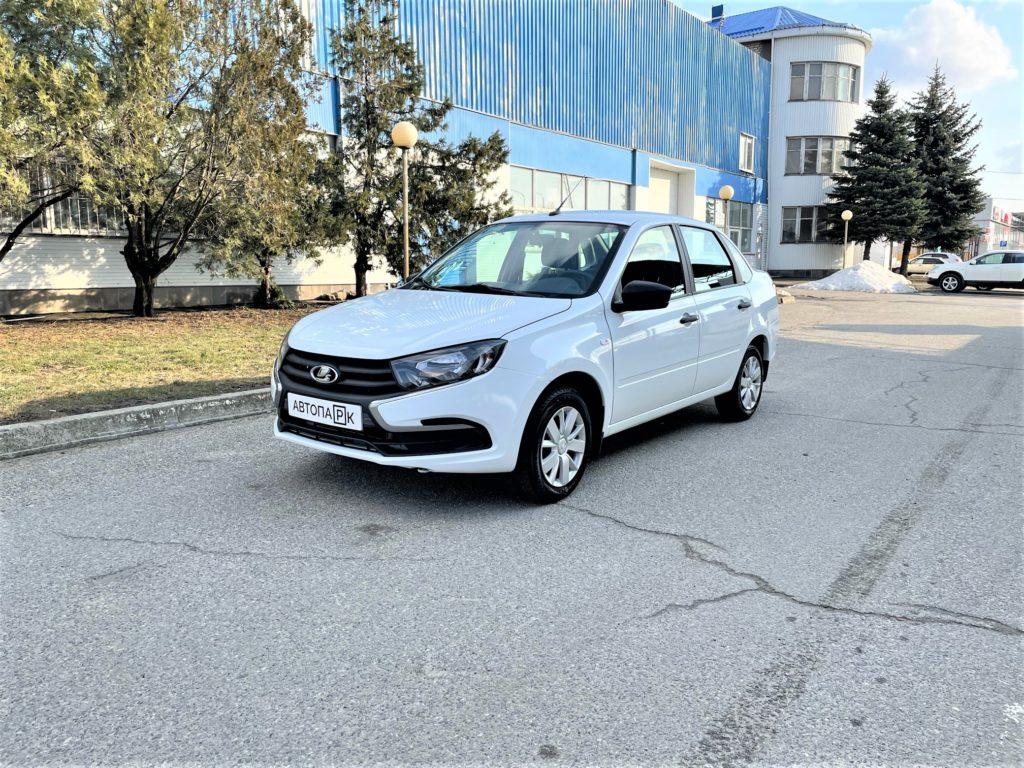Купить LADA Granta (Белый) - Автопарк Ставрополь