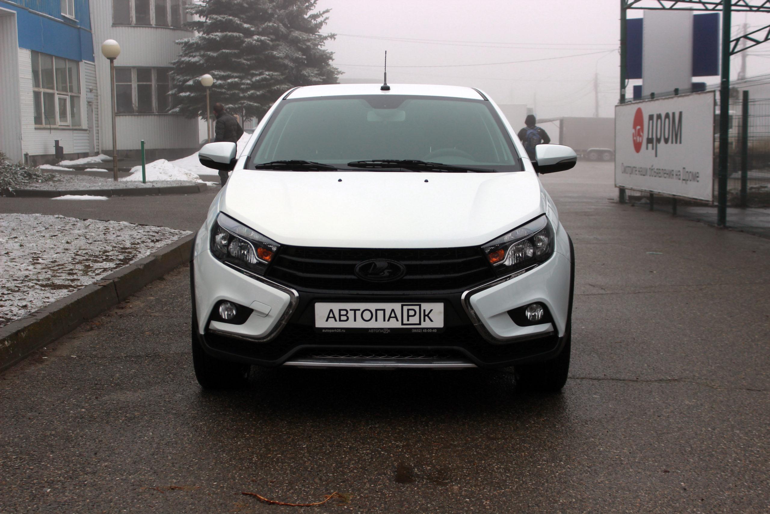 Купить LADA Vesta Cross (Белый) - Автопарк Ставрополь