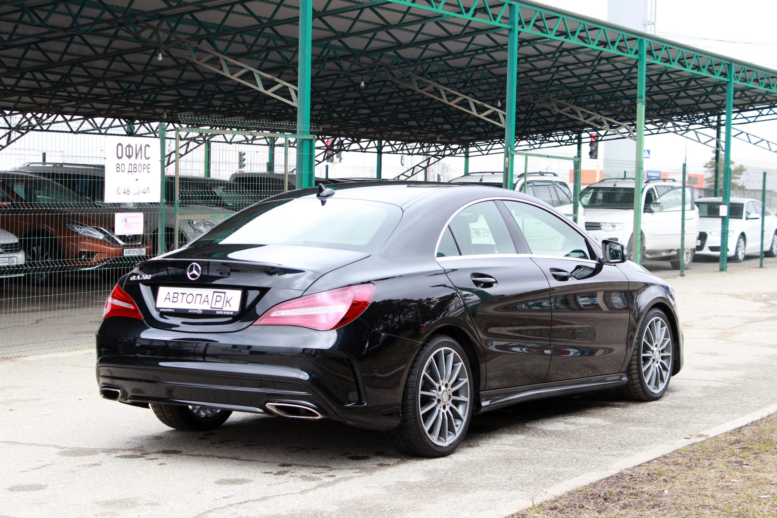 Купить Mercedes-Benz CLA-класс (Черный) - Автопарк Ставрополь