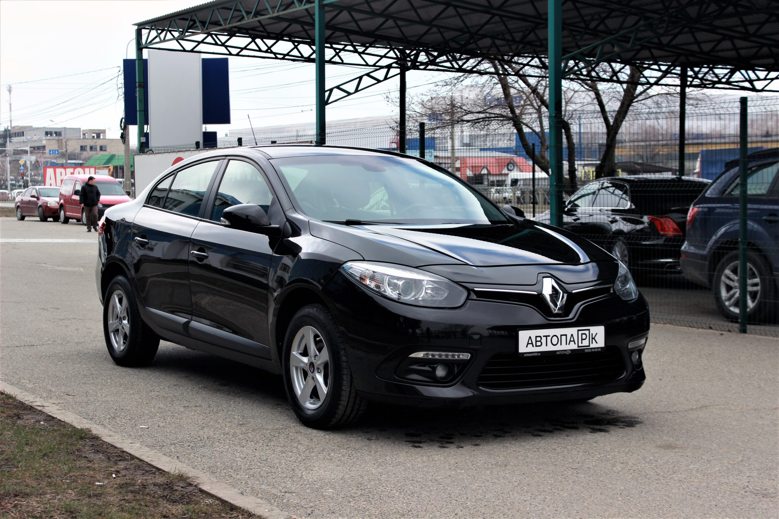 Купить Renault Fluence (Черный) - Автопарк Ставрополь