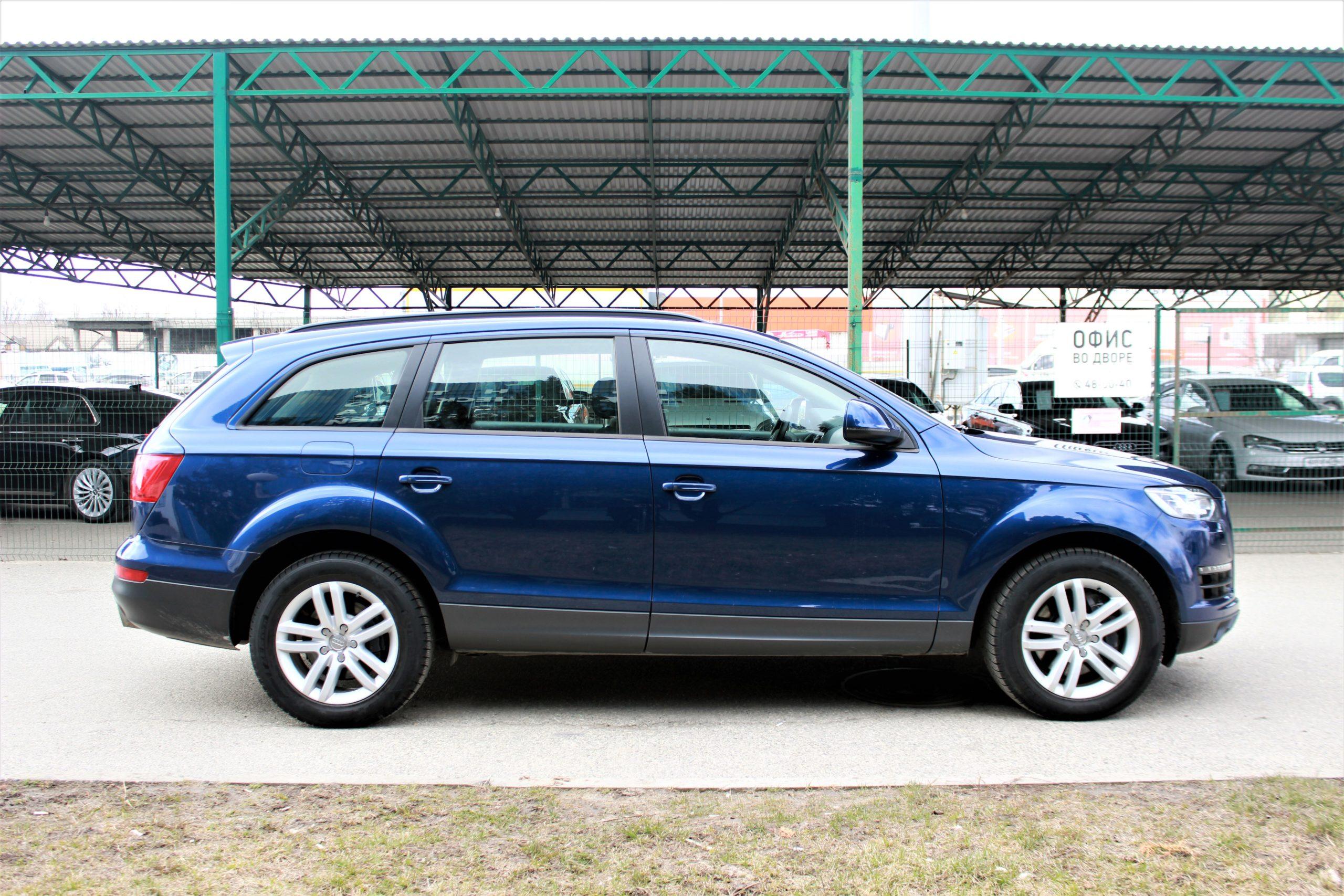 Купить Audi Q7 (Синий) - Автопарк Ставрополь