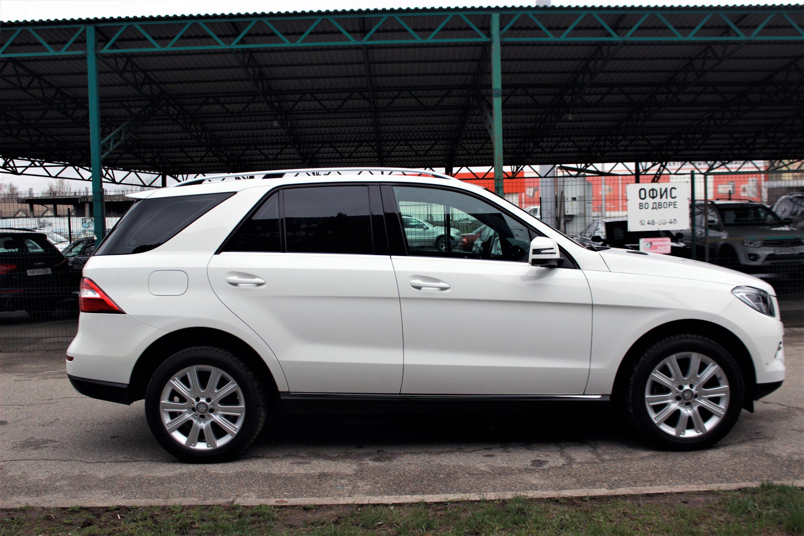 Купить Mercedes-Benz M-класс (Белый) - Автопарк Ставрополь