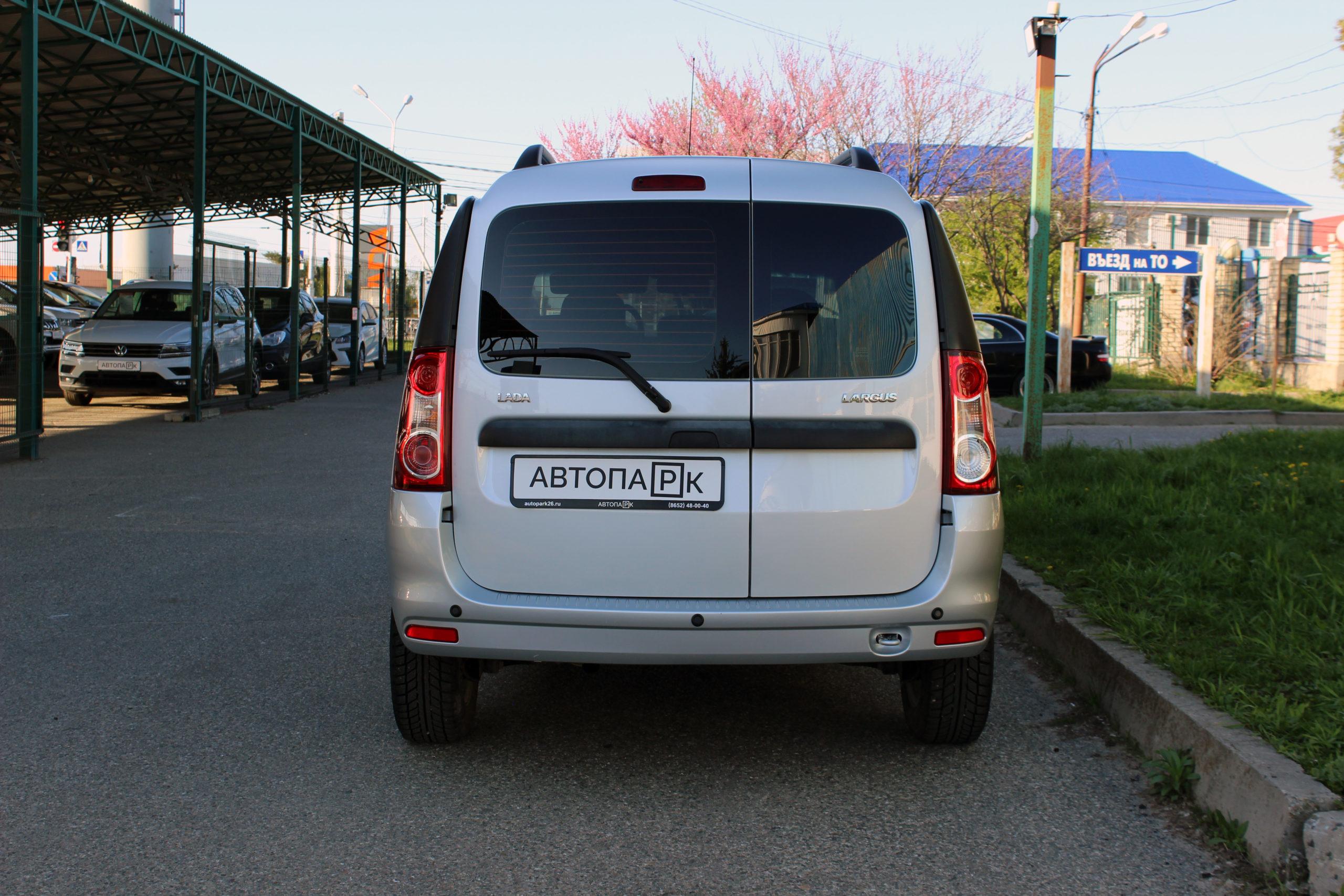 Купить LADA Largus (Серебристый ) - Автопарк Ставрополь