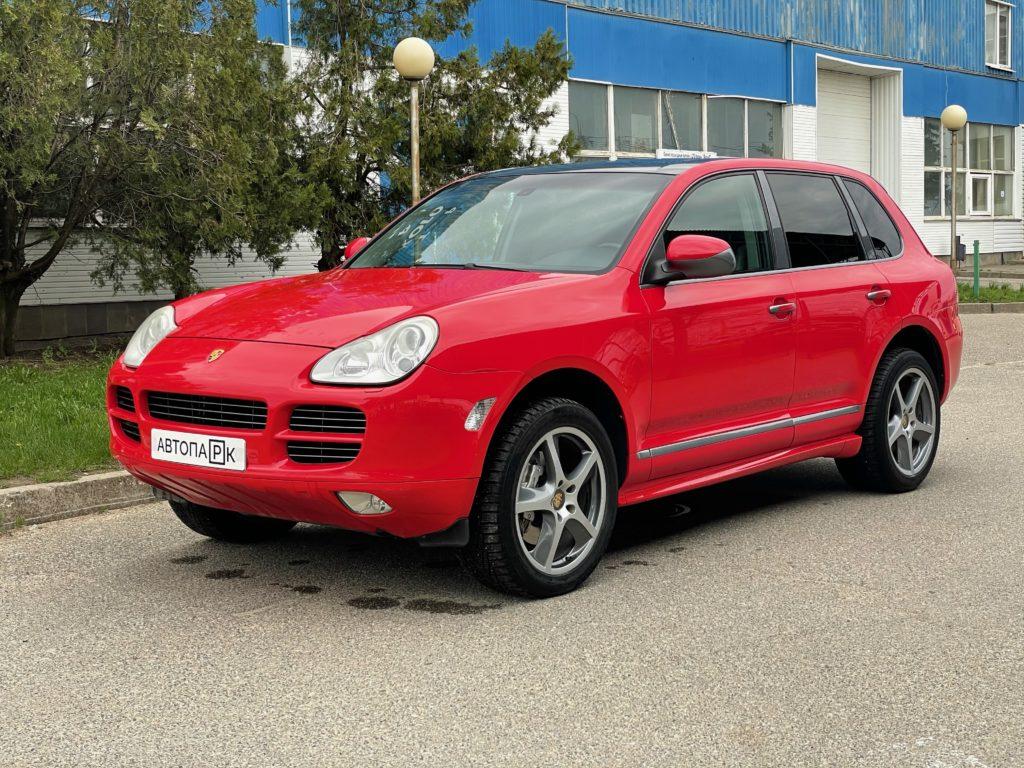Купить Porsche Cayenne S (Красный) - Автопарк Ставрополь
