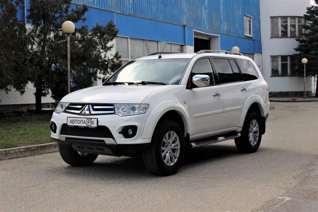 Купить Mitsubishi Pajero Sport (Белый) - Автопарк Ставрополь