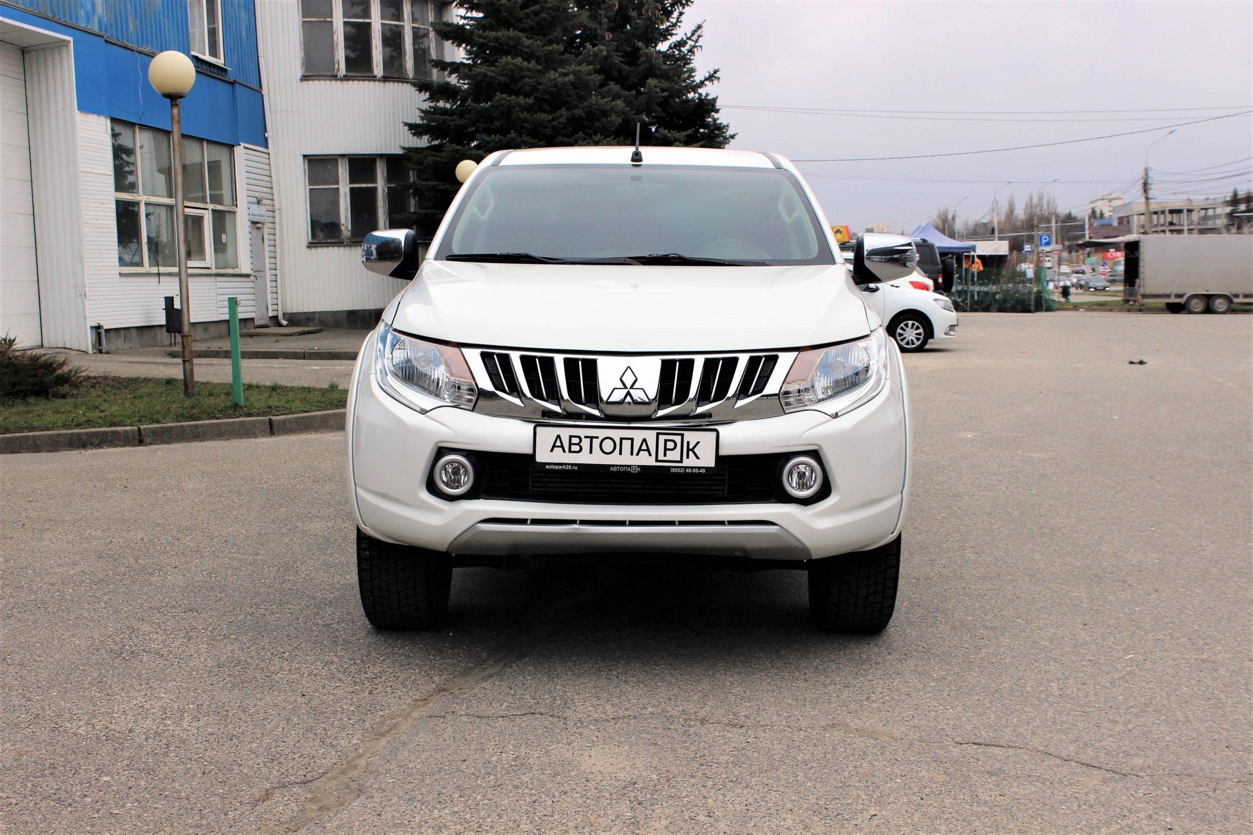 Купить Mitsubishi L200 (Белый) - Автопарк Ставрополь