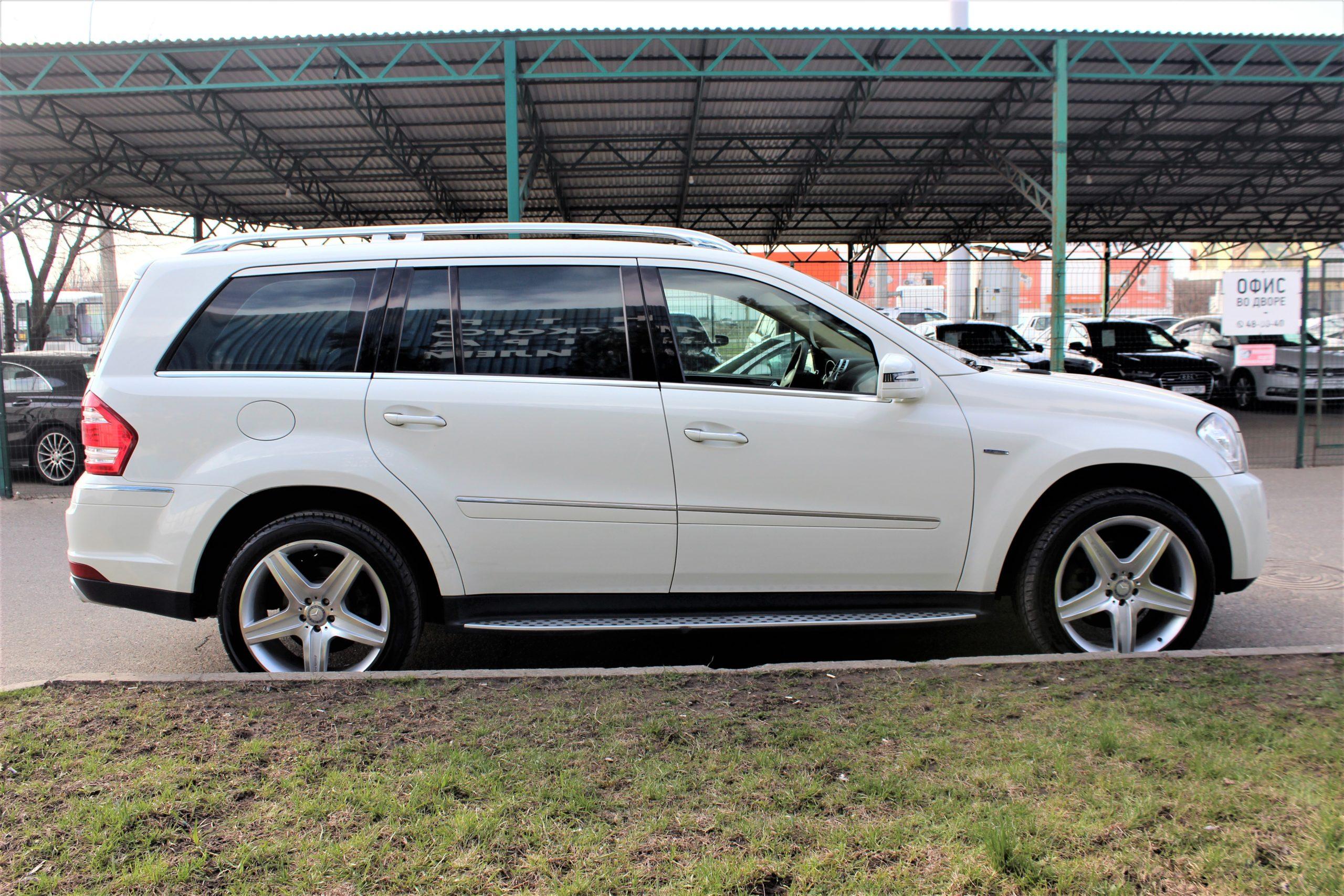 Купить Mercedes-Benz GL-класс (Белый) - Автопарк Ставрополь