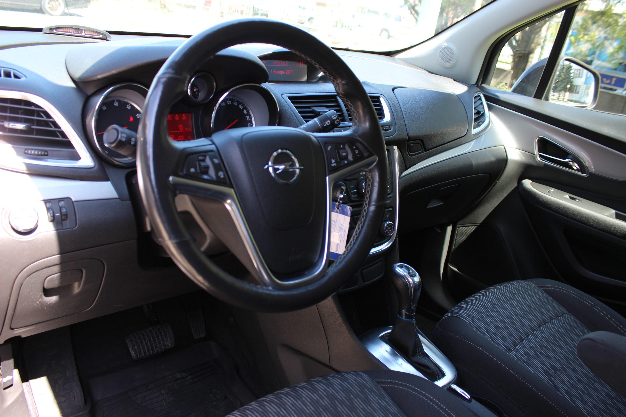 Купить Opel Mokka (Черный) - Автопарк Ставрополь
