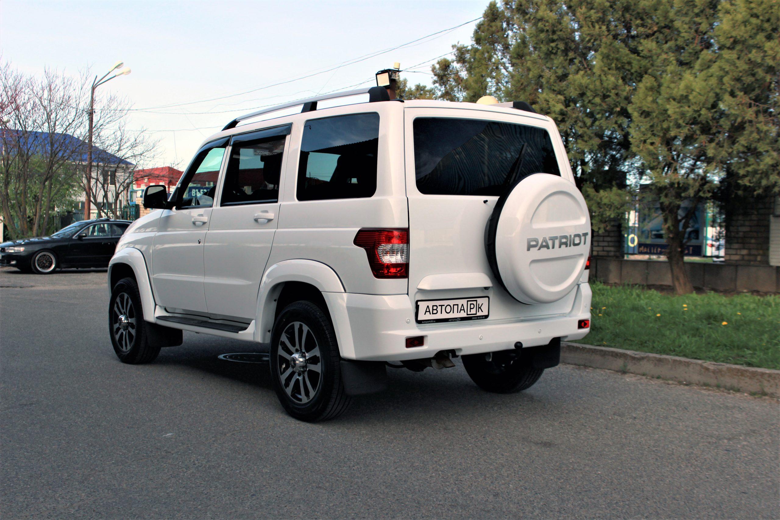 Купить УАЗ Patriot (Белый неметаллик) - Автопарк Ставрополь