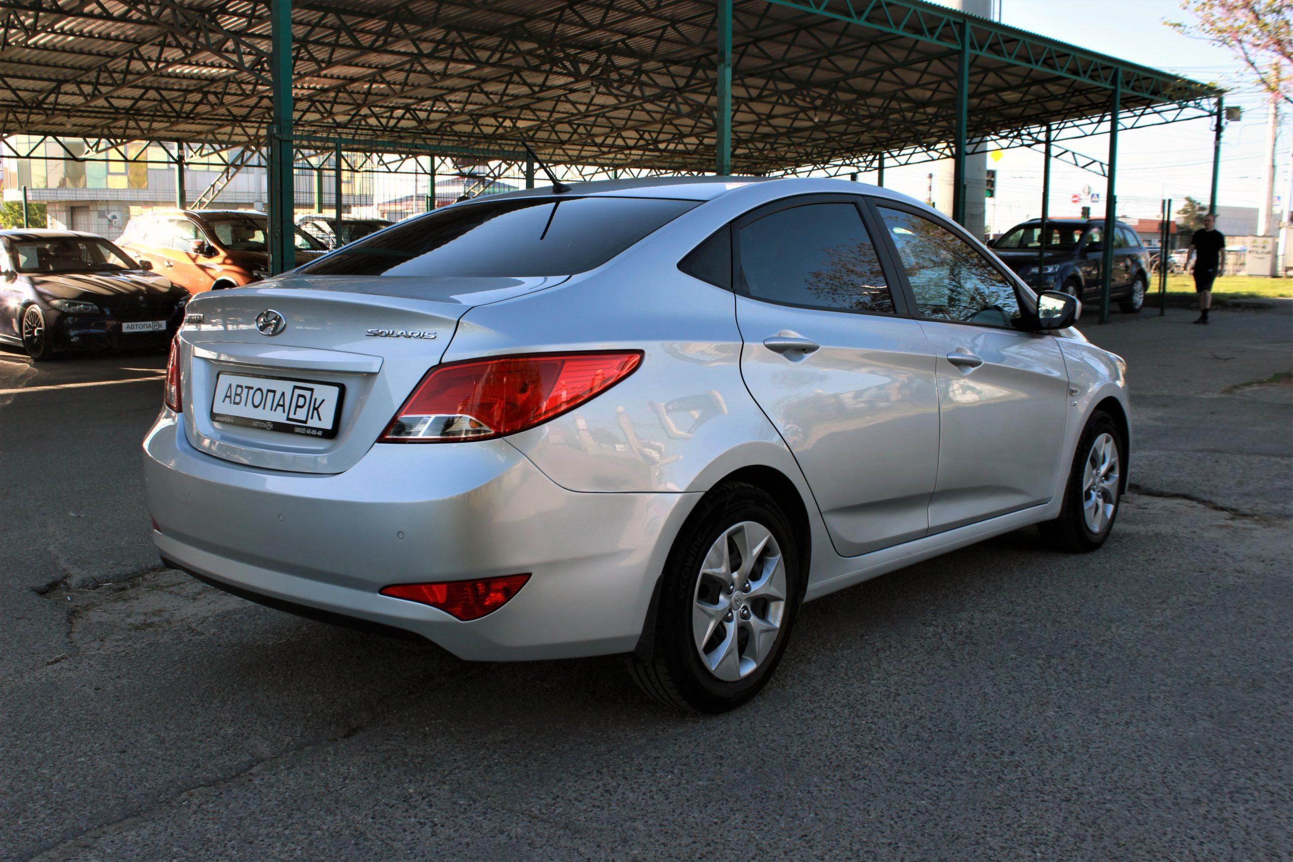 Купить Hyundai Solaris (Серебристый) - Автопарк Ставрополь
