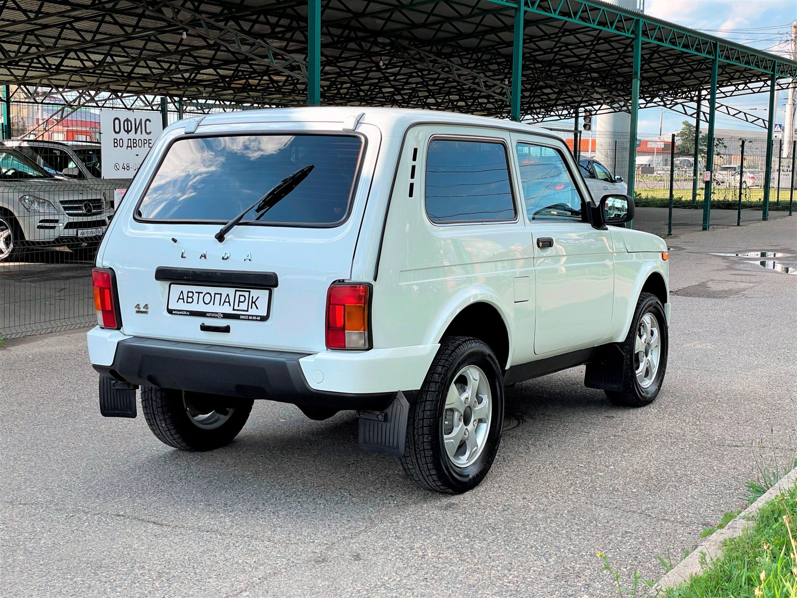 Купить LADA 4×4 (Нива) (Белый) - Автопарк Ставрополь