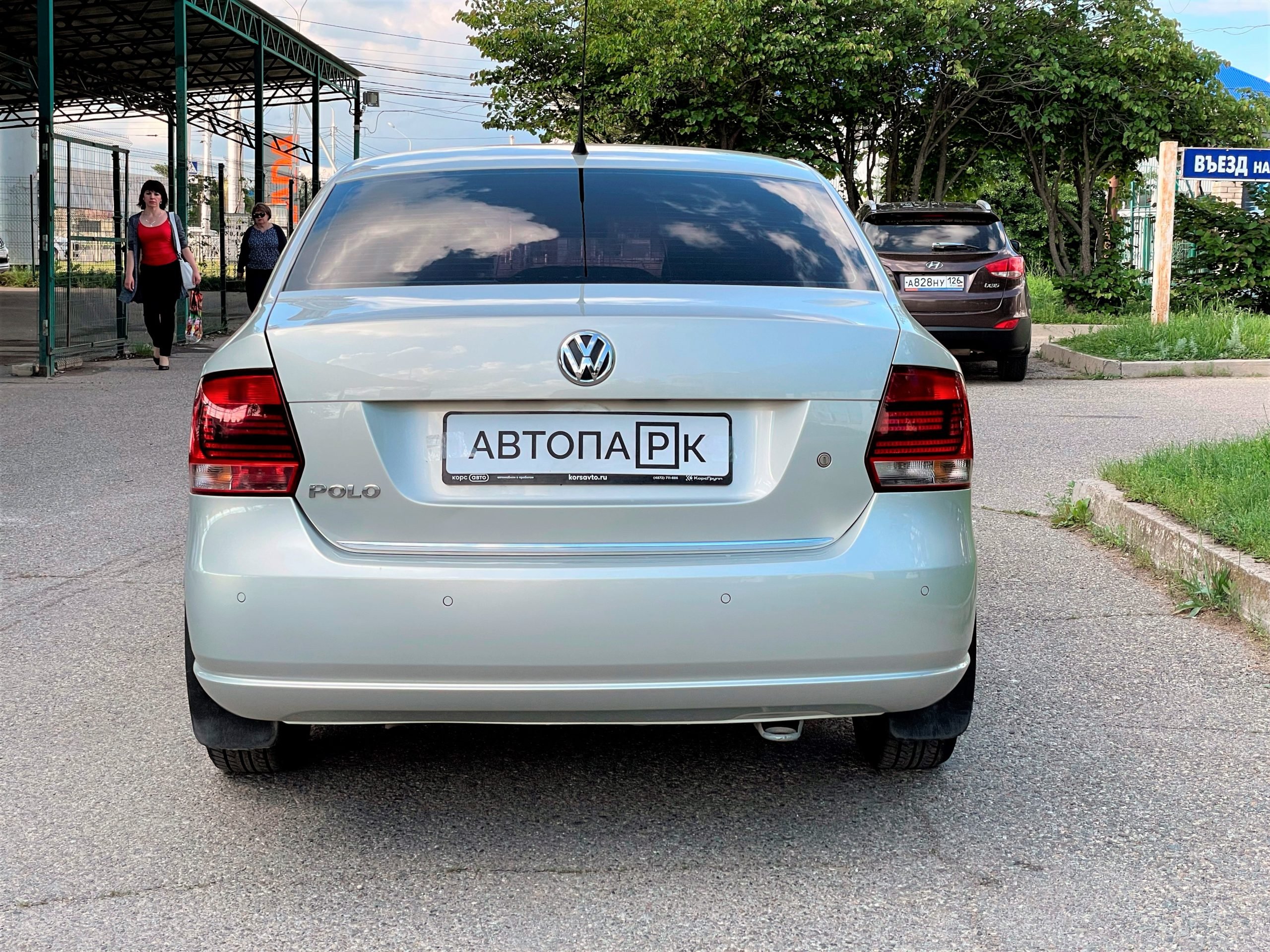 Купить Volkswagen Polo (Серебристо-жёлтый) - Автопарк Ставрополь