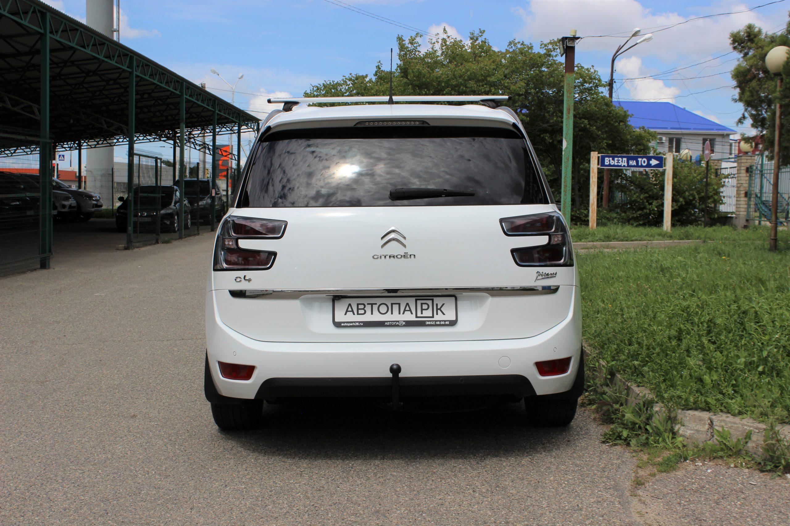 Купить Citroen C4 Picasso (Белый) - Автопарк Ставрополь