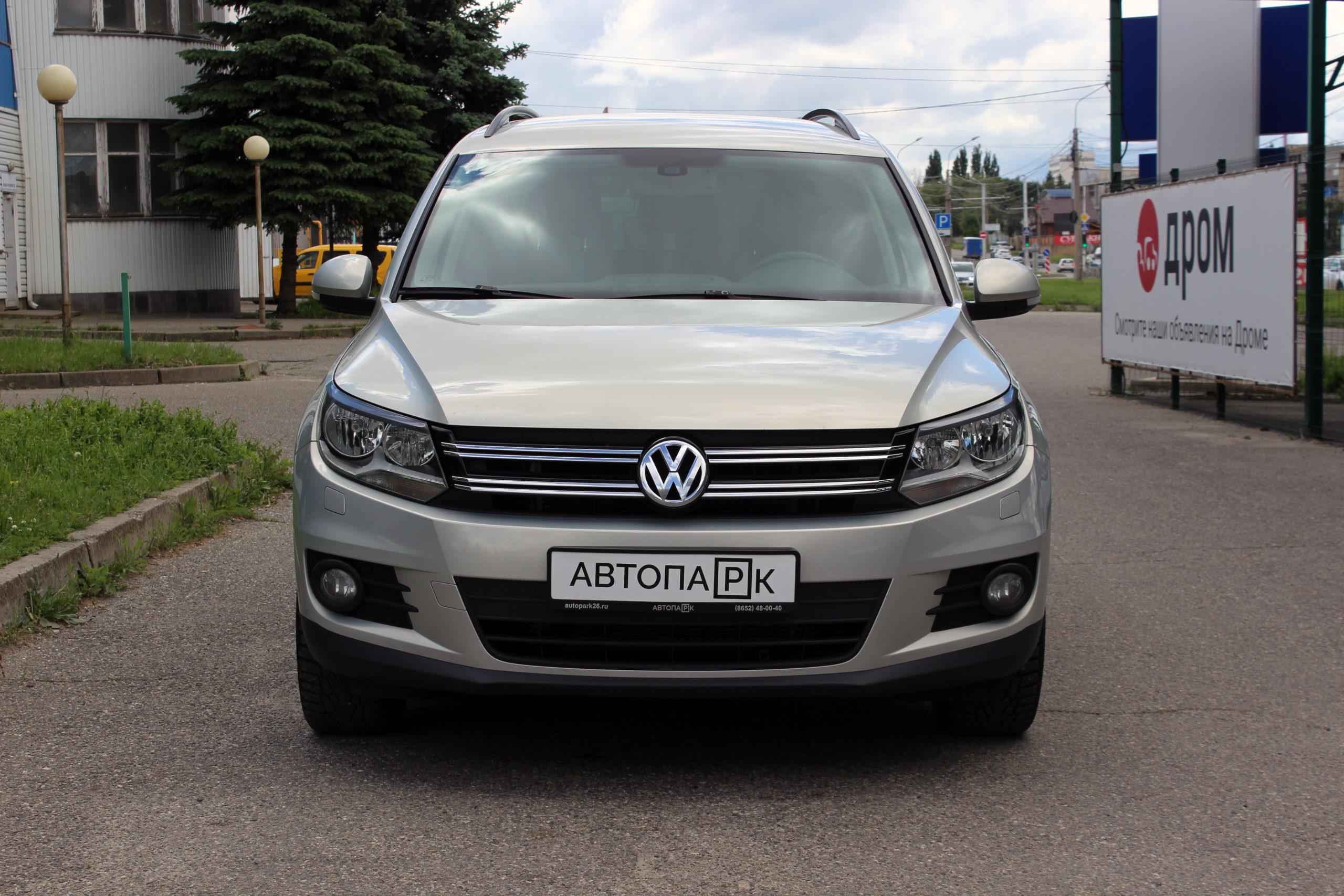 Купить Volkswagen Tiguan (Серебристо-жёлтый) - Автопарк Ставрополь
