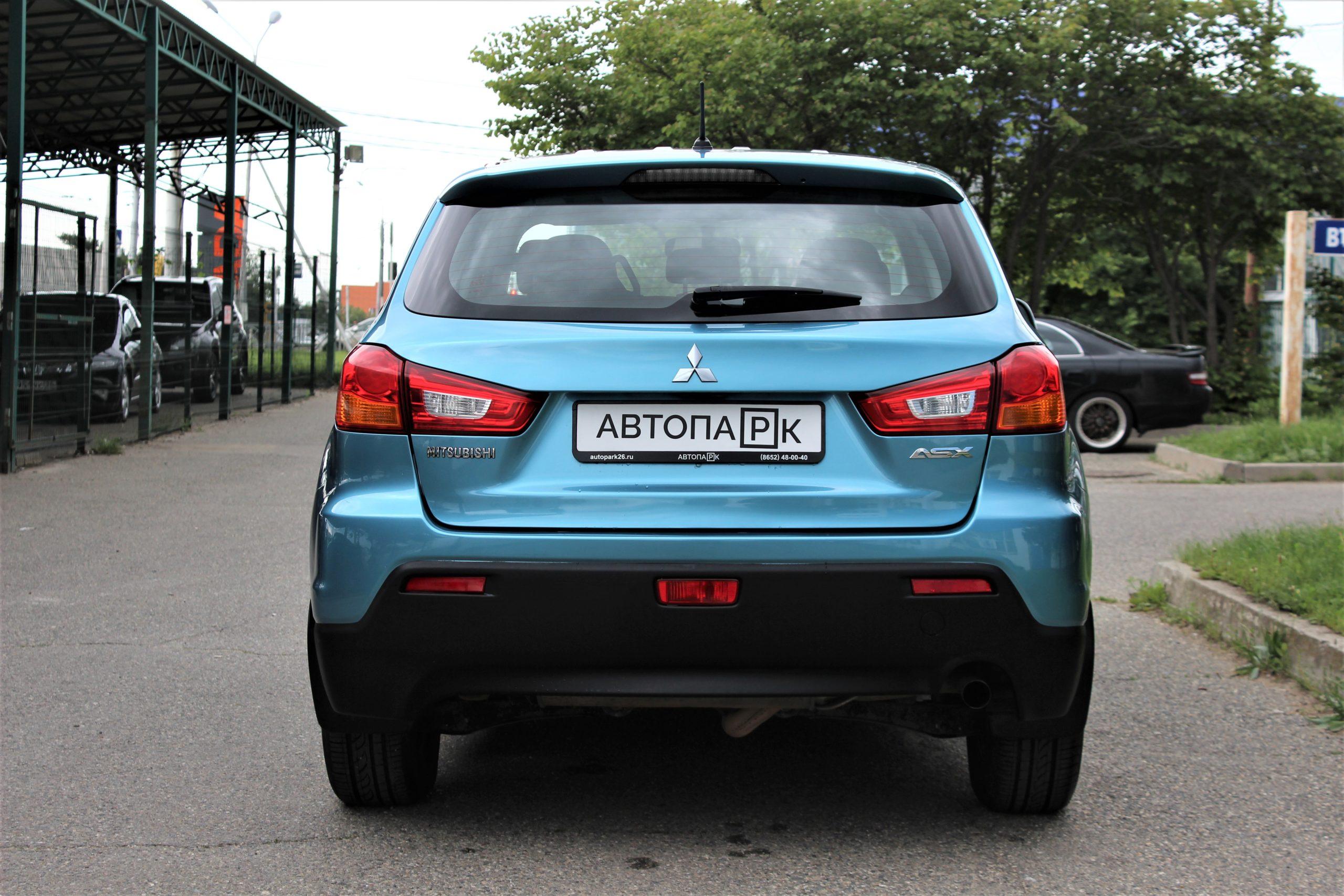 Купить Mitsubishi ASX 1.8 (Голубой) - Автопарк Ставрополь