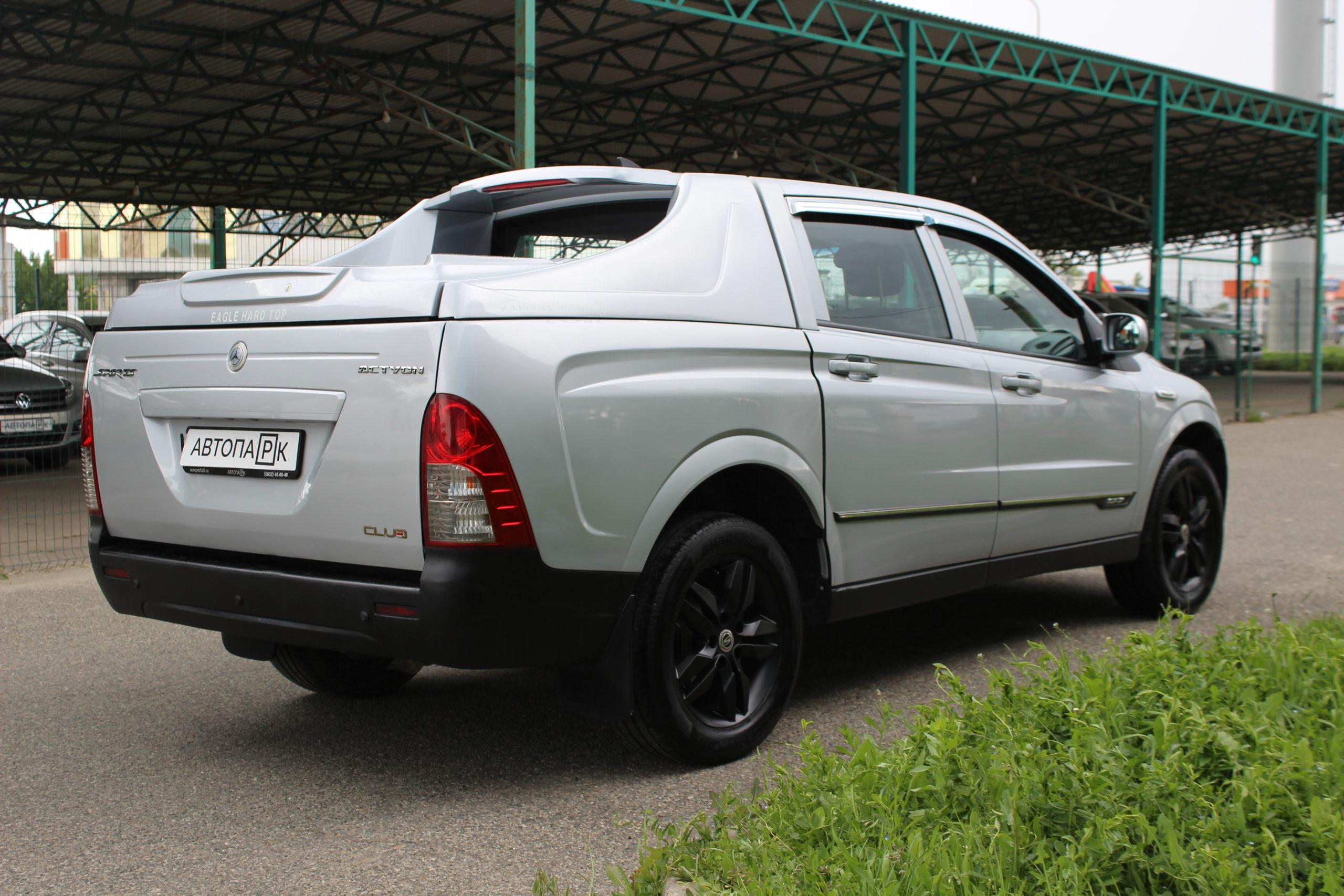Купить SsangYong Actyon Sports (Серый) - Автопарк Ставрополь