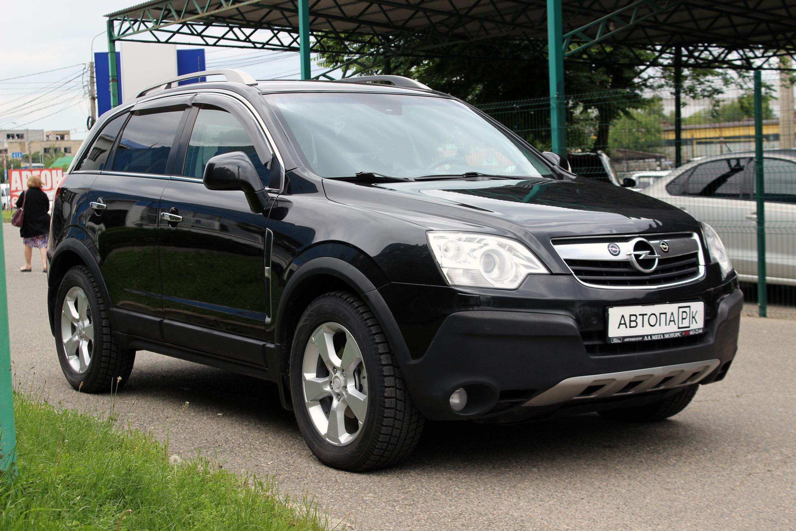 Купить Opel Antara (Черный) - Автопарк Ставрополь