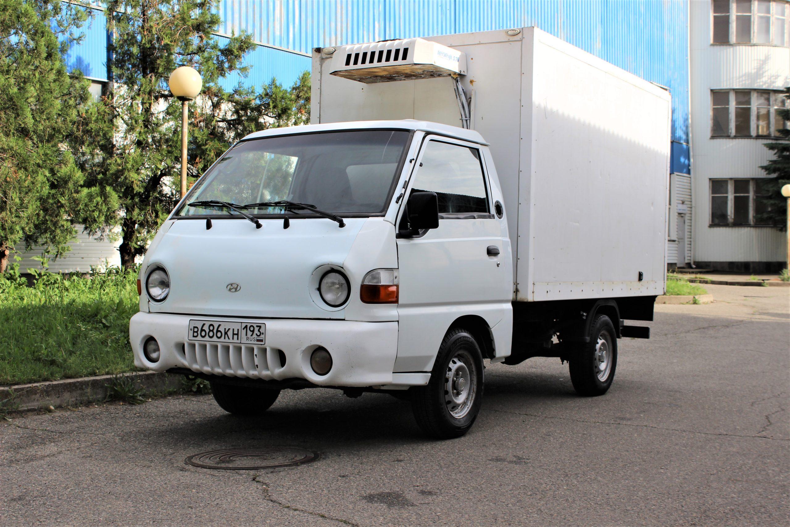 Купить Hyundai Porter (Белый) - Автопарк Ставрополь