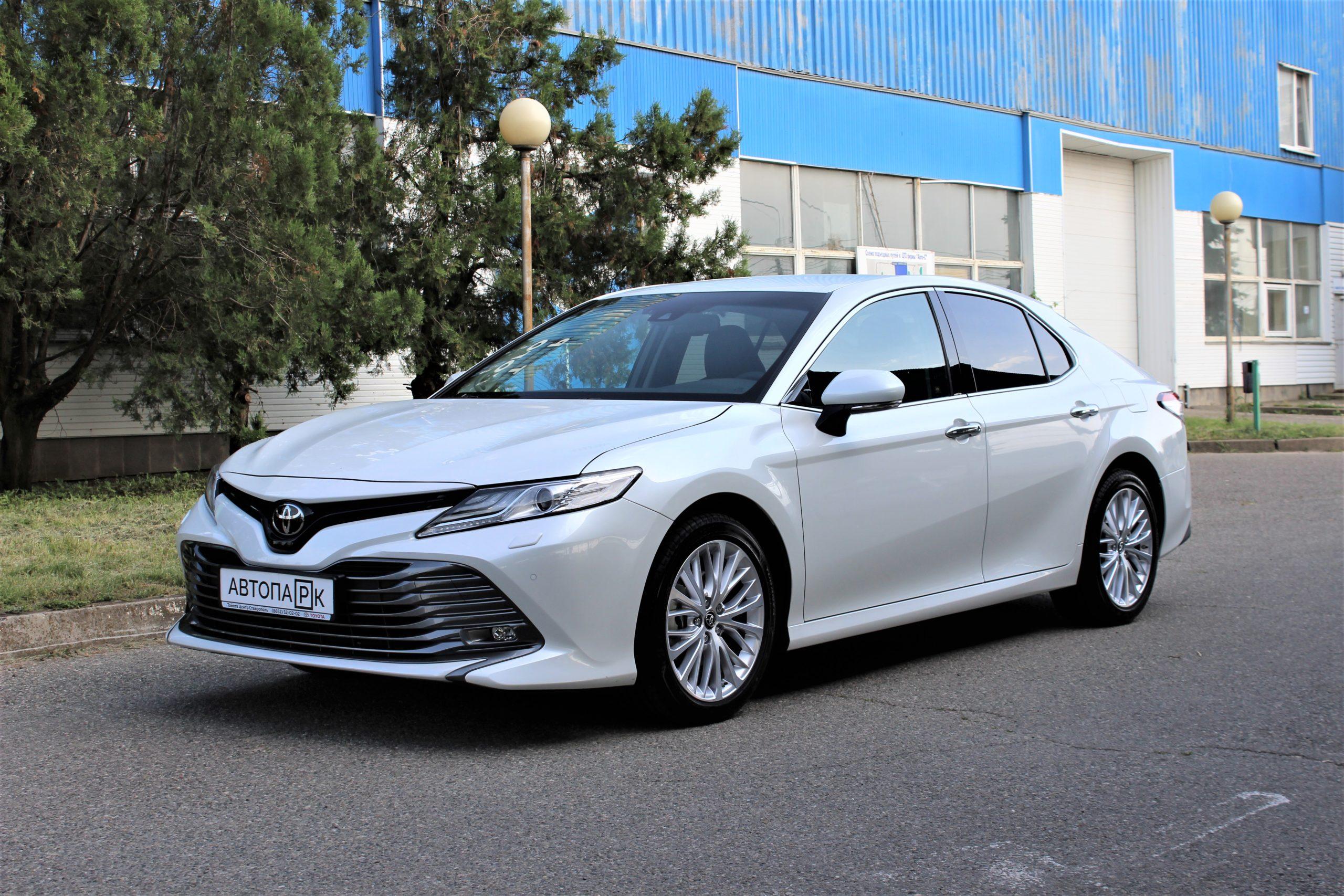 Купить Toyota Camry (Белый) - Автопарк Ставрополь