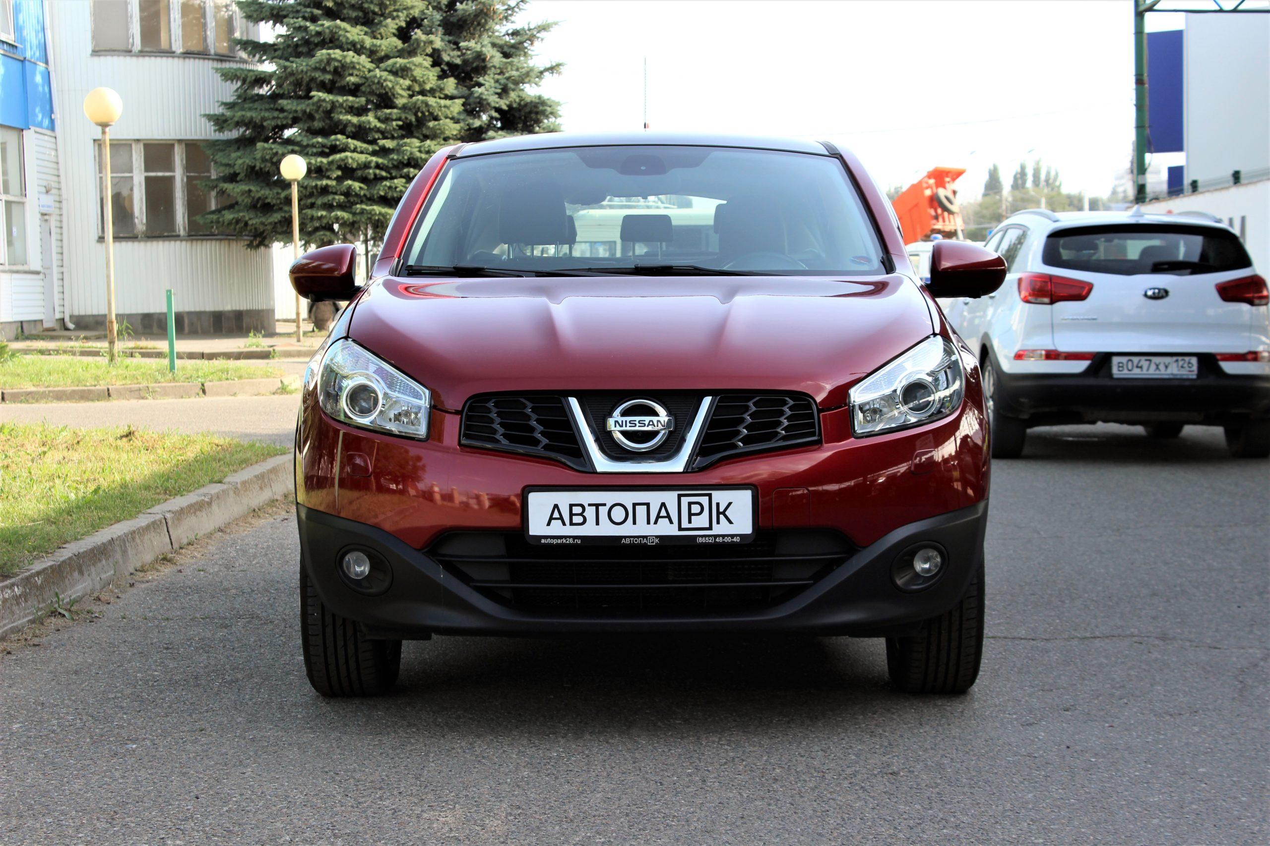 Купить Nissan Qashqai (Красный) - Автопарк Ставрополь