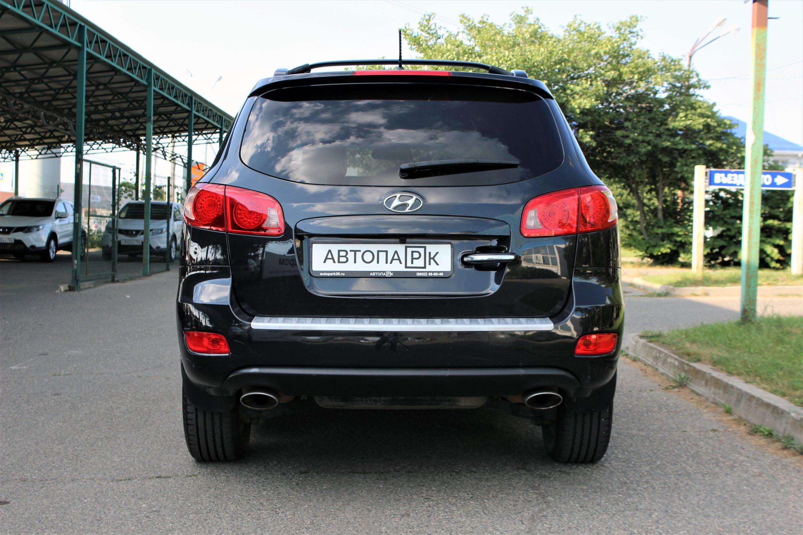 Купить Hyundai Santa Fe (Черный) - Автопарк Ставрополь