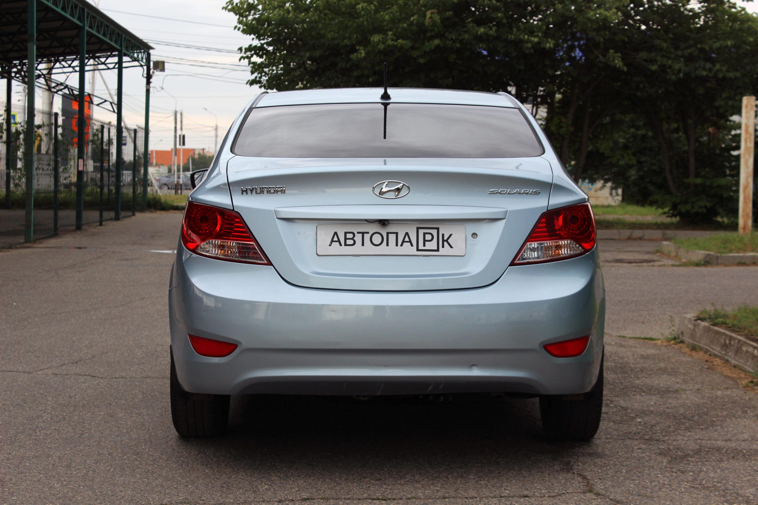 Купить Hyundai Solaris (Серо-голубой) - Автопарк Ставрополь