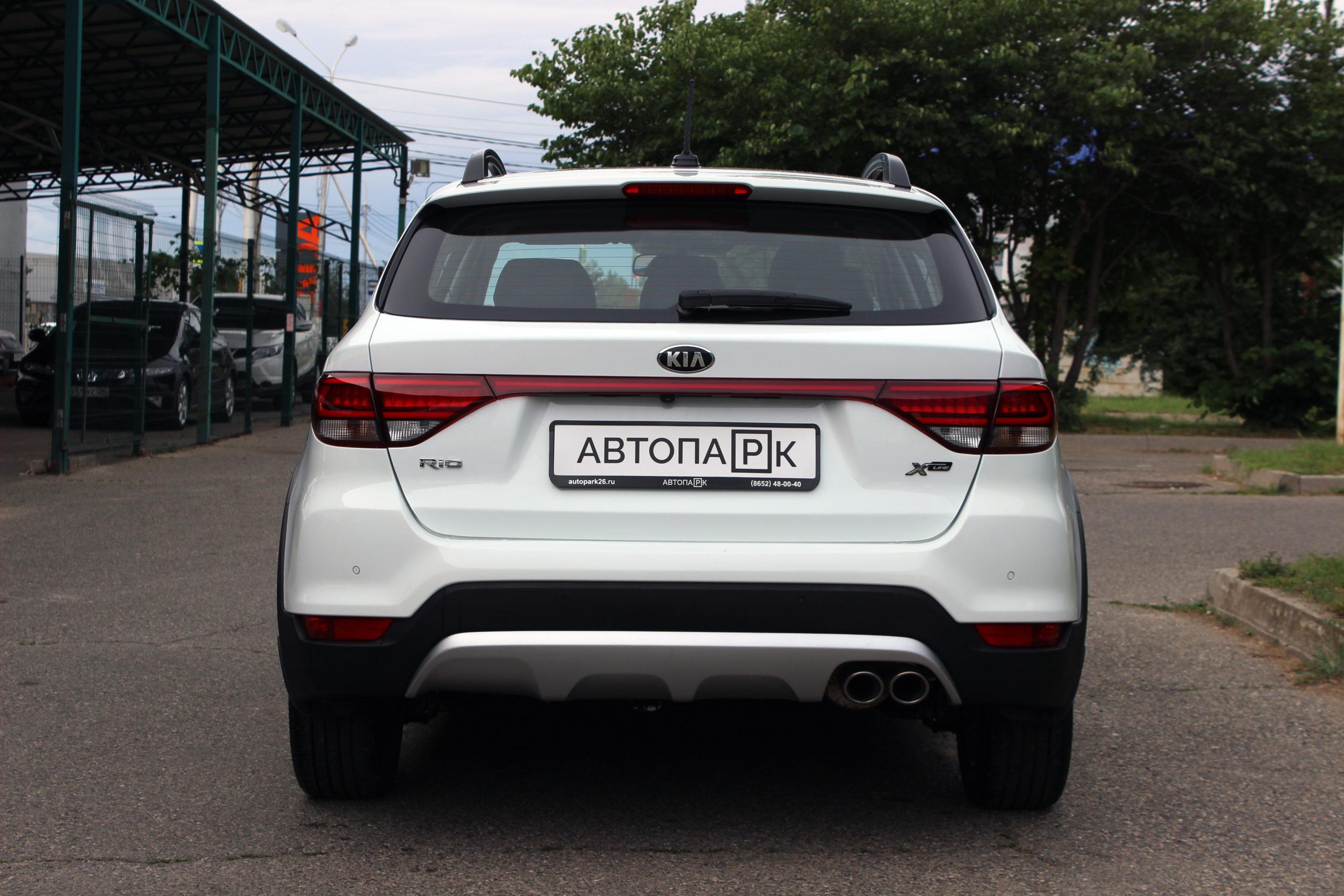 Купить KIA Rio X-Line (Белый) - Автопарк Ставрополь