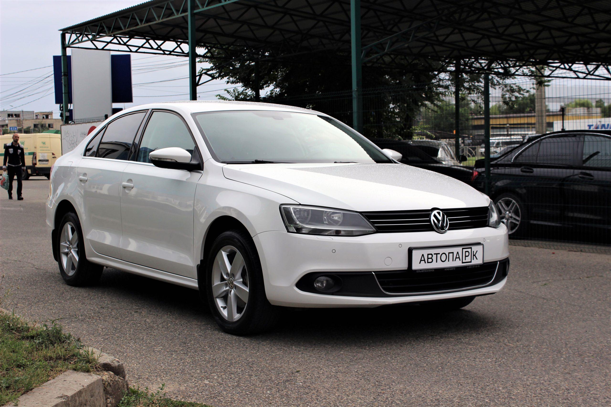 Купить Volkswagen Jetta (Белый) - Автопарк Ставрополь