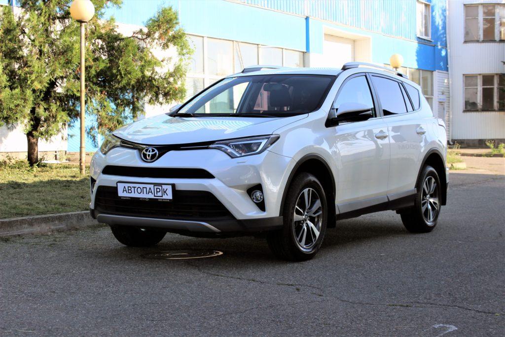 Купить Toyota RAV4 (Белый перламутр) - Автопарк Ставрополь