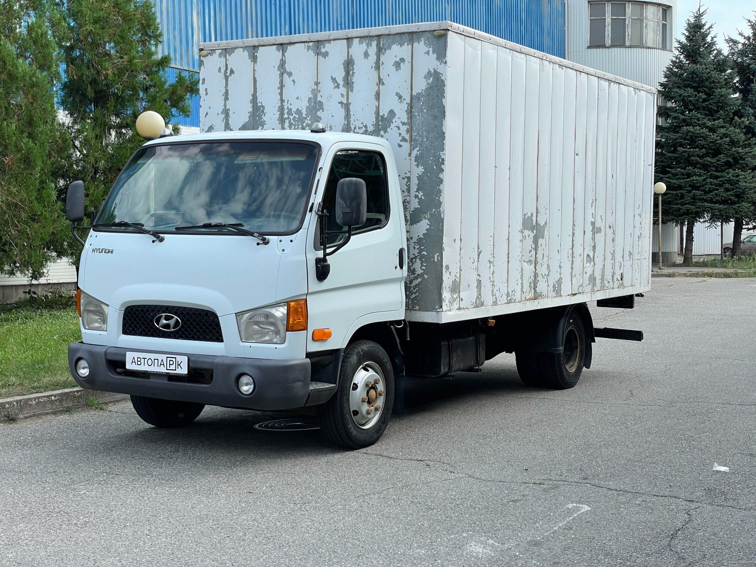 Купить Hyundai HD78 (Белый) - Автопарк Ставрополь