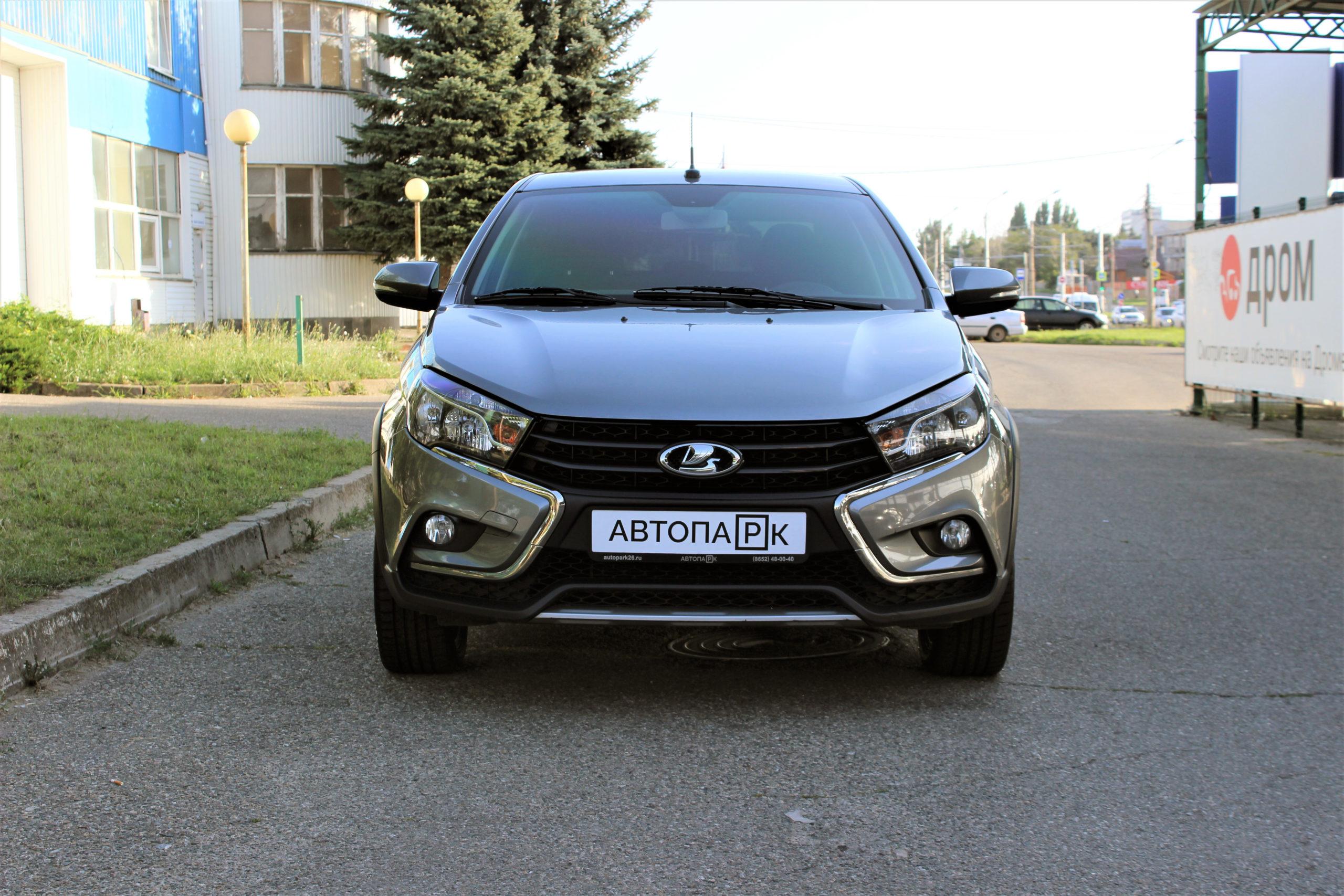 Купить LADA Vesta Cross (Серый) - Автопарк Ставрополь