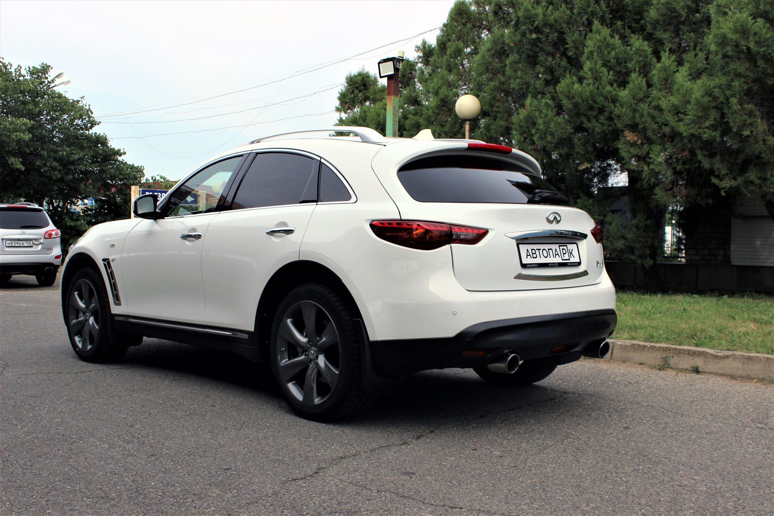 Купить Infiniti FX37 (Белый) - Автопарк Ставрополь