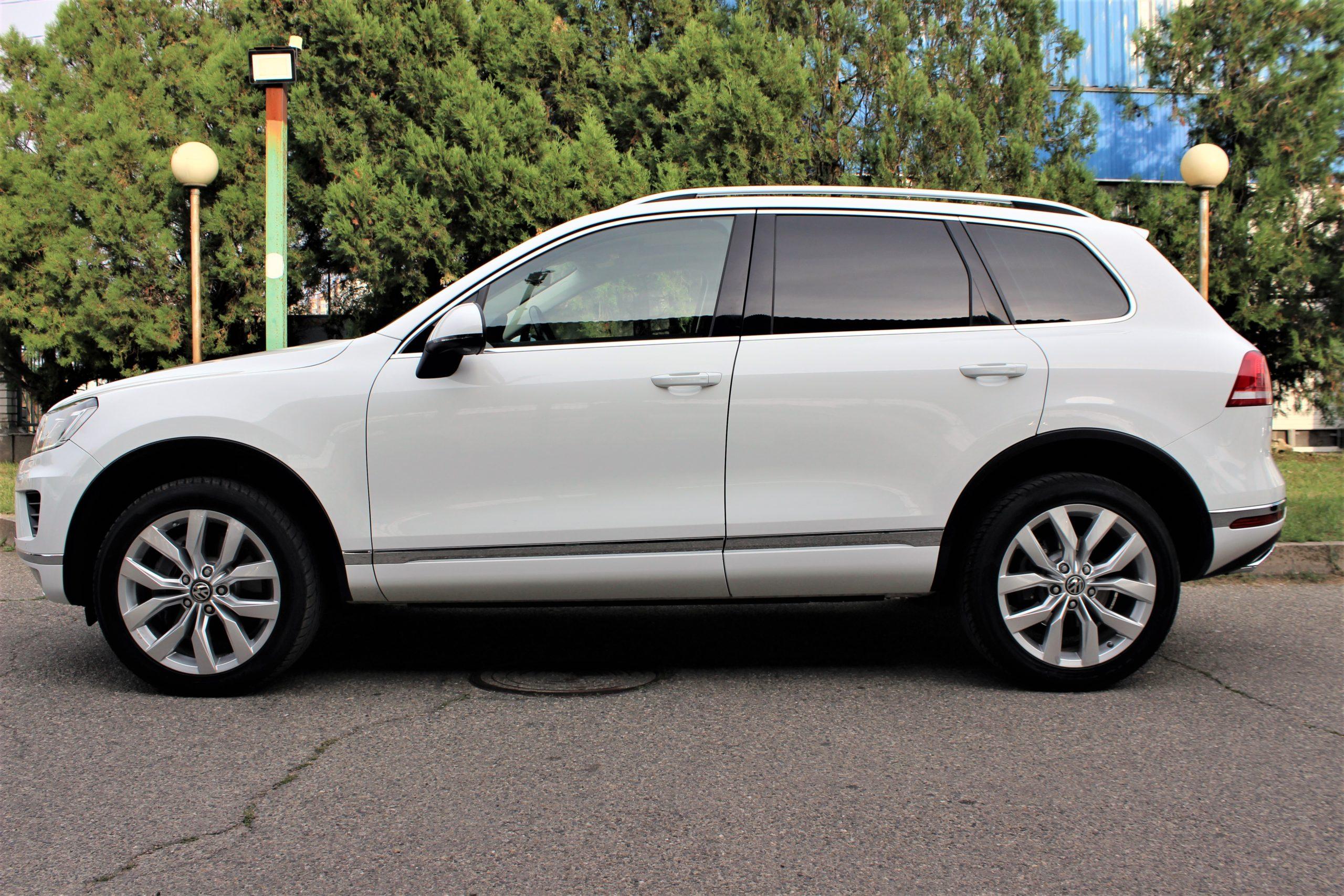 Купить Volkswagen Touareg (Белый) - Автопарк Ставрополь
