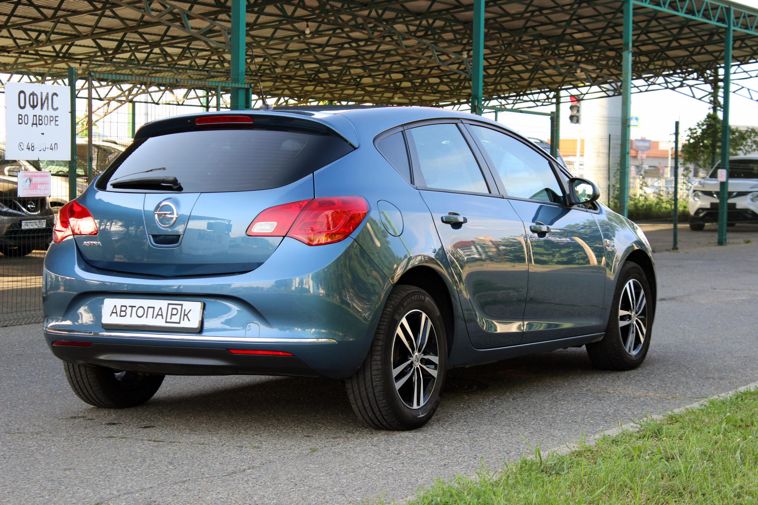 Купить Opel Astra (Белый) - Автопарк Ставрополь