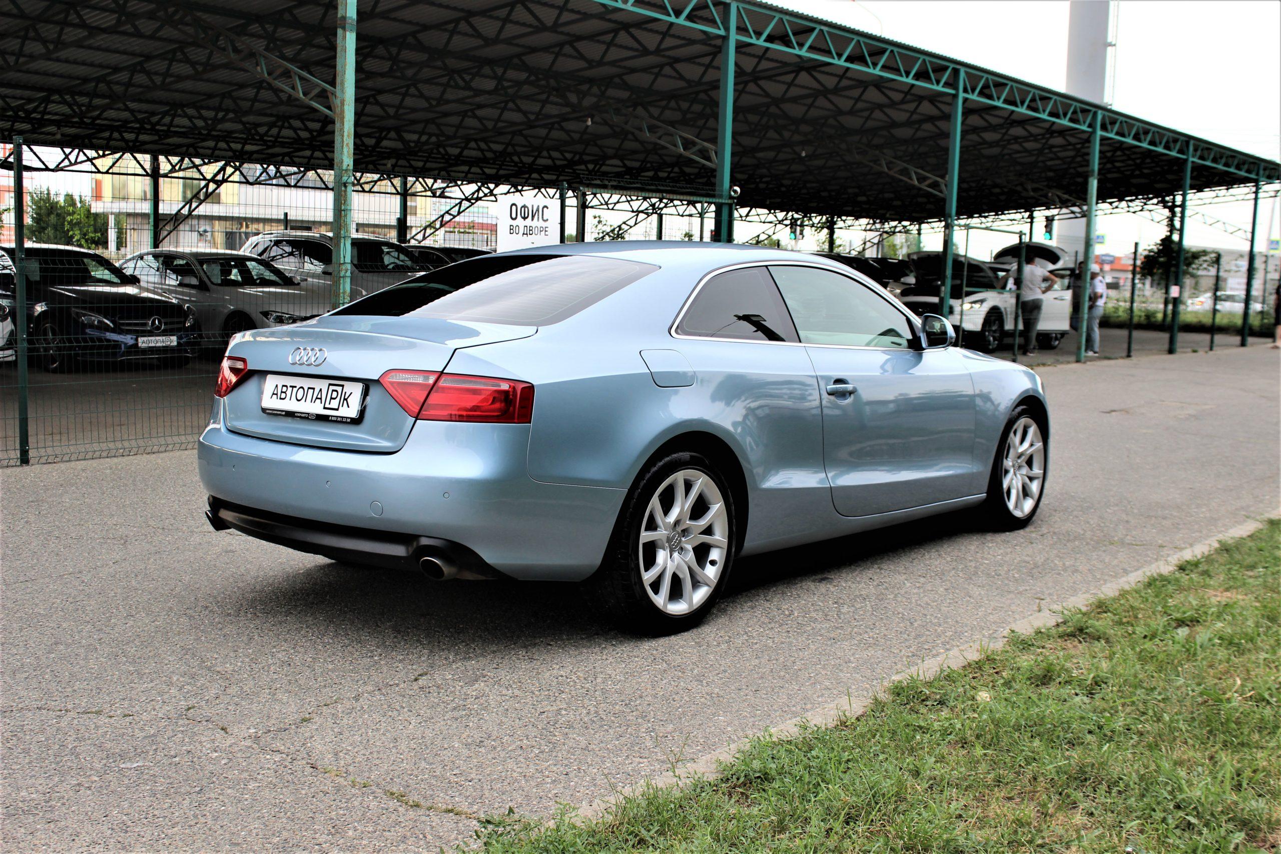 Купить Audi A5 (Голубой) - Автопарк Ставрополь