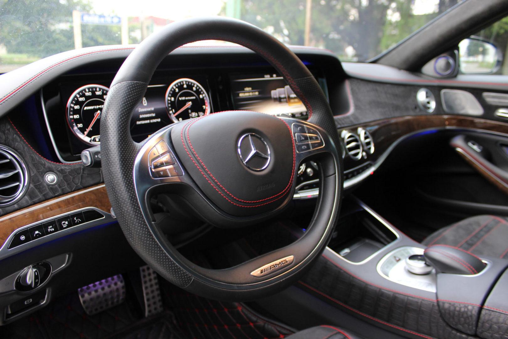 Купить Mercedes-Benz S-класс AMG (Белый) - Автопарк Ставрополь
