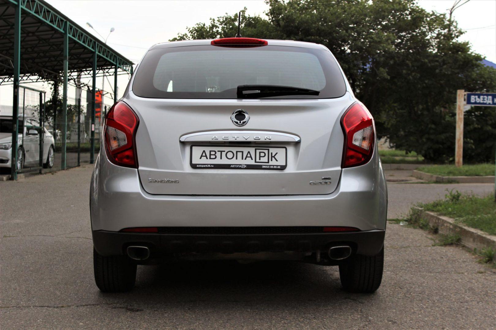 Купить SsangYong Actyon (Серебристый ) - Автопарк Ставрополь