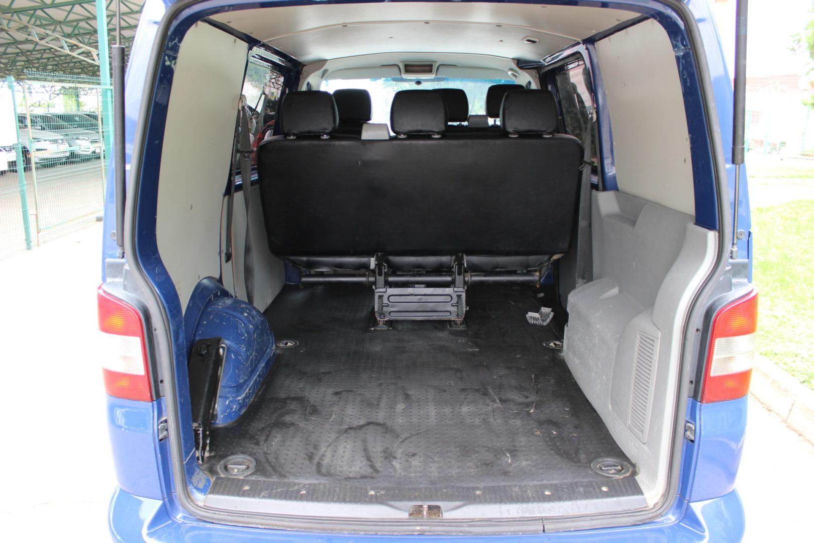 Купить Volkswagen Transporter (Синий) - Автопарк Ставрополь