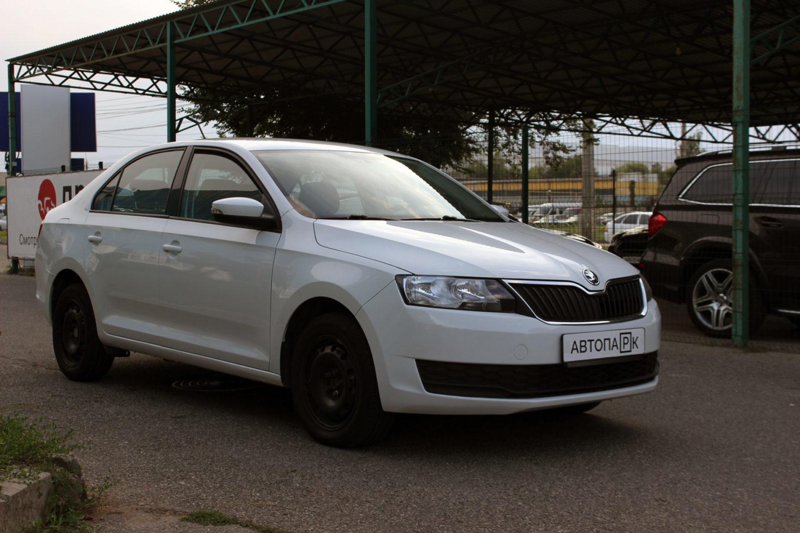 Купить Skoda Rapid (Белый) - Автопарк Ставрополь
