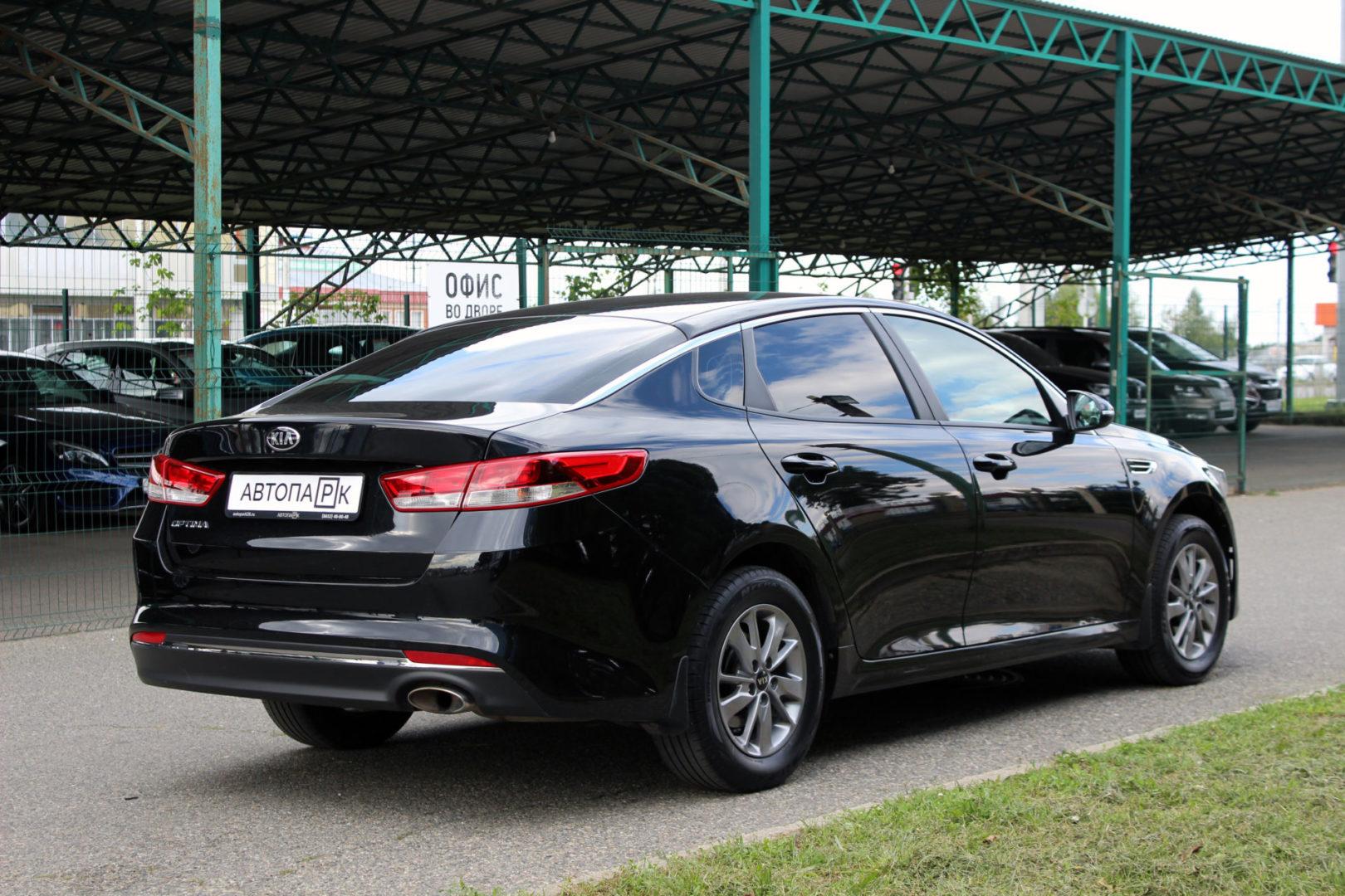 Купить Kia Optima (Черный) - Автопарк Ставрополь
