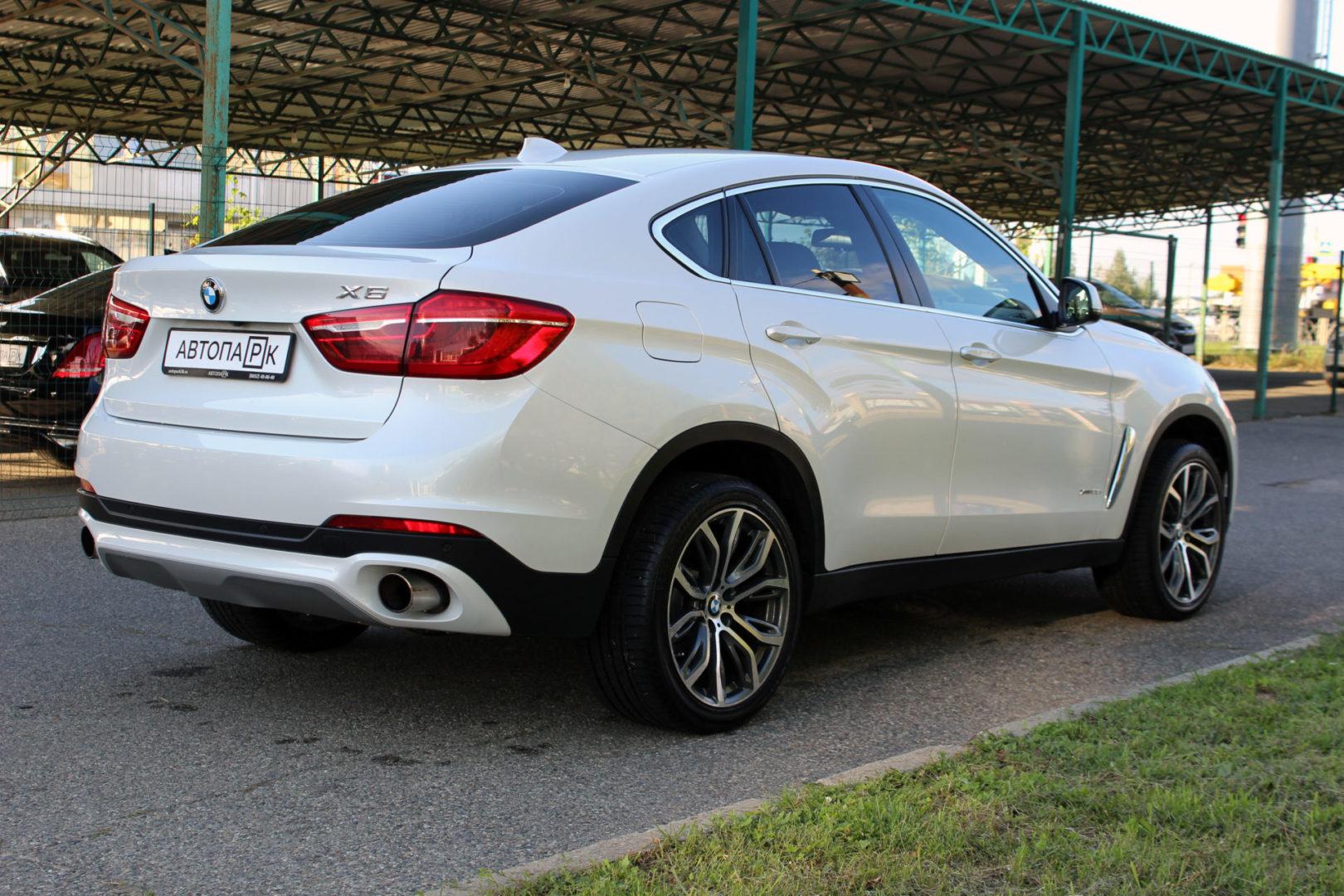 Купить BMW X6 (Белый металлик) - Автопарк Ставрополь